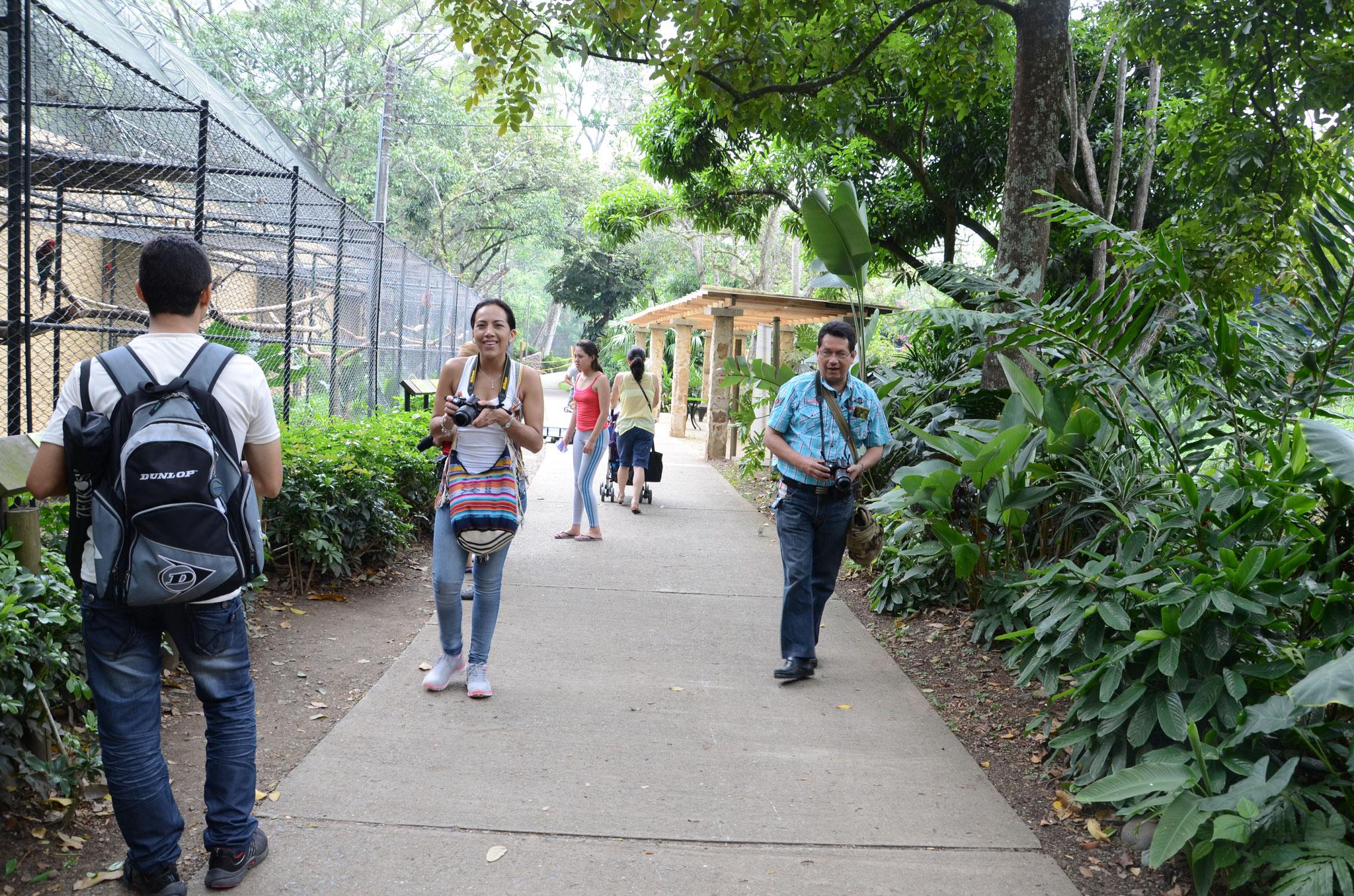 Visita al zoológico de Cali