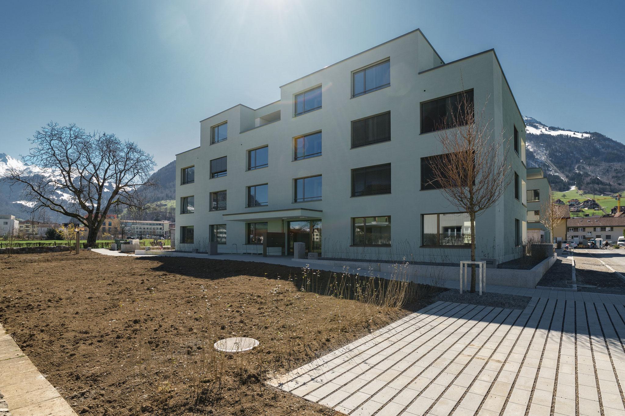 1. Bauetappe ist abgeschlossen, März 21
