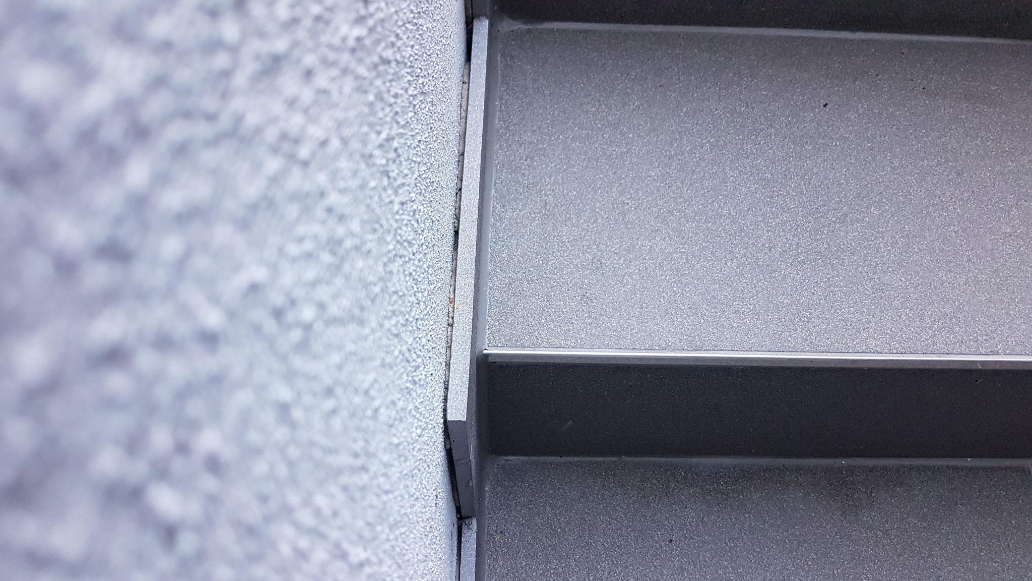 Vorher- Kellerabgang mit fehlender Versiegelung