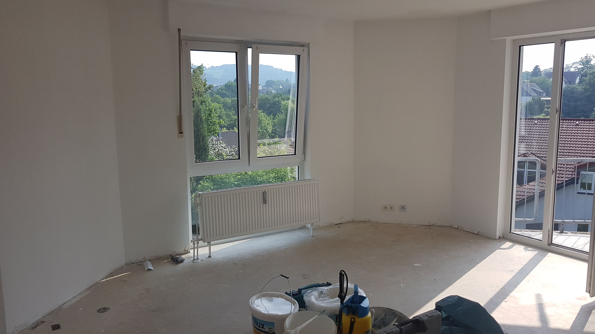 Vorher - Wohnzimmer