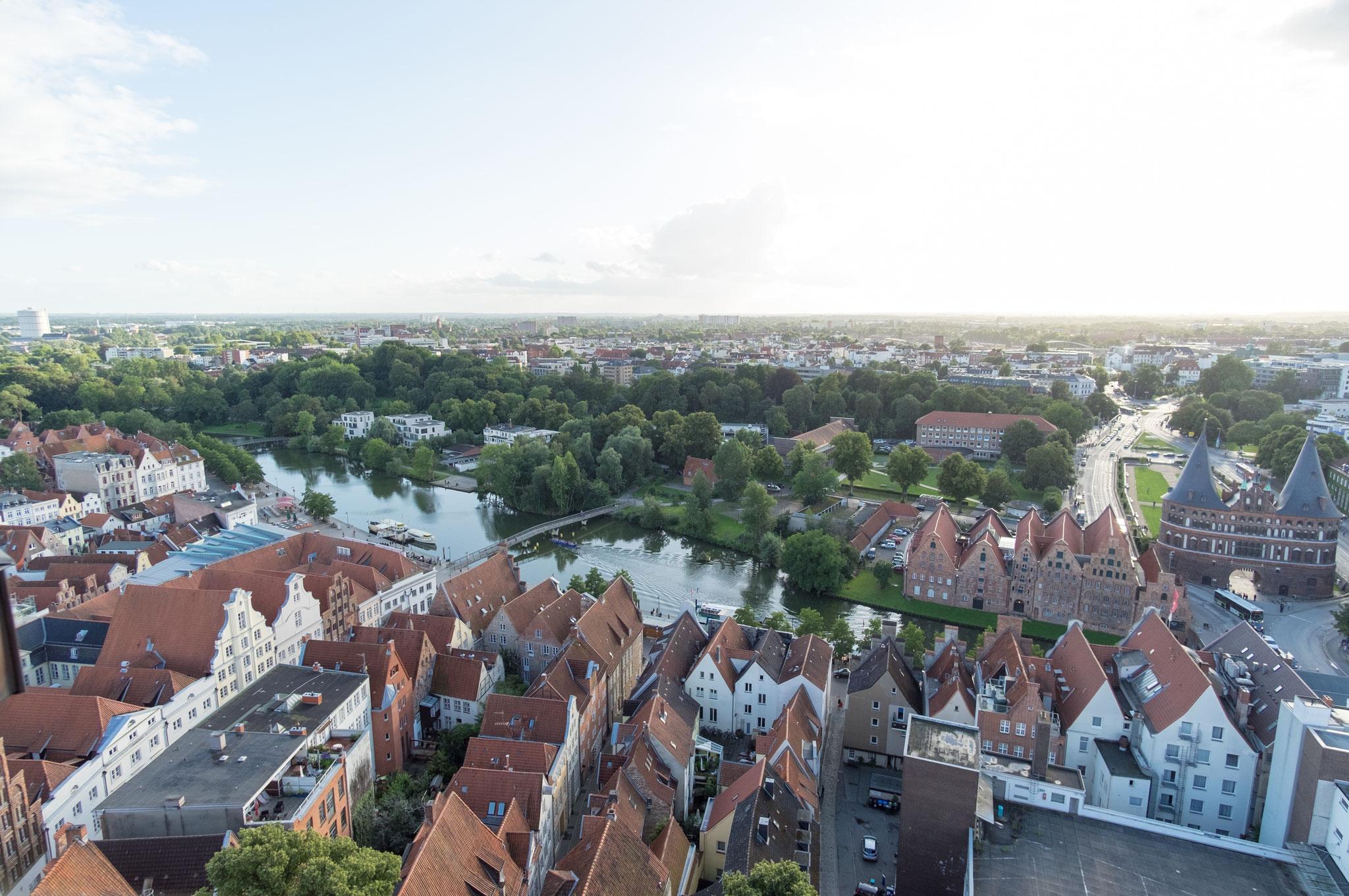 Blick vom St. Petri Turm V