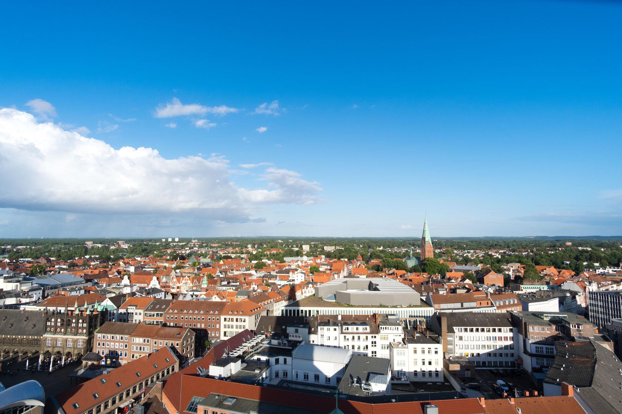 Blick vom St. Petri Turm I
