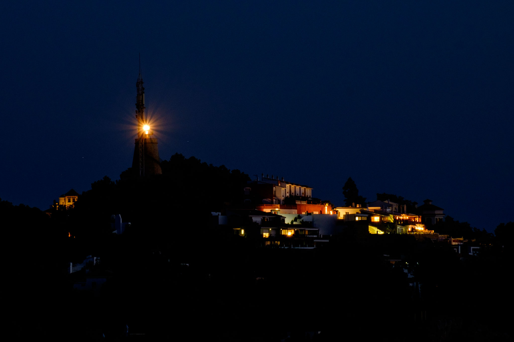 Leuchtturm, La Herradura