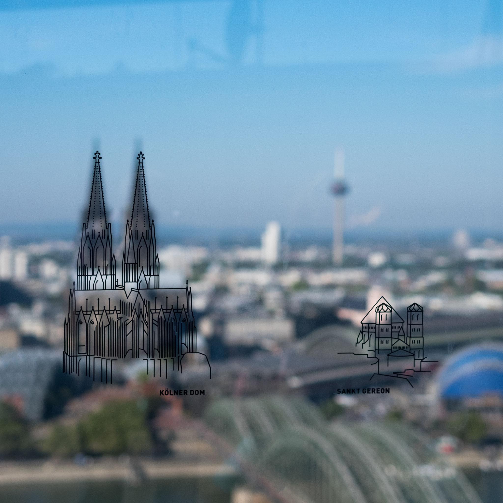 Blick von Triangle Tower