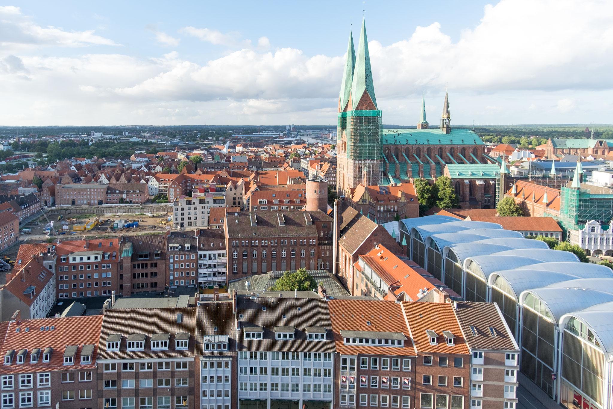 Blick vom St. Petri Turm VII