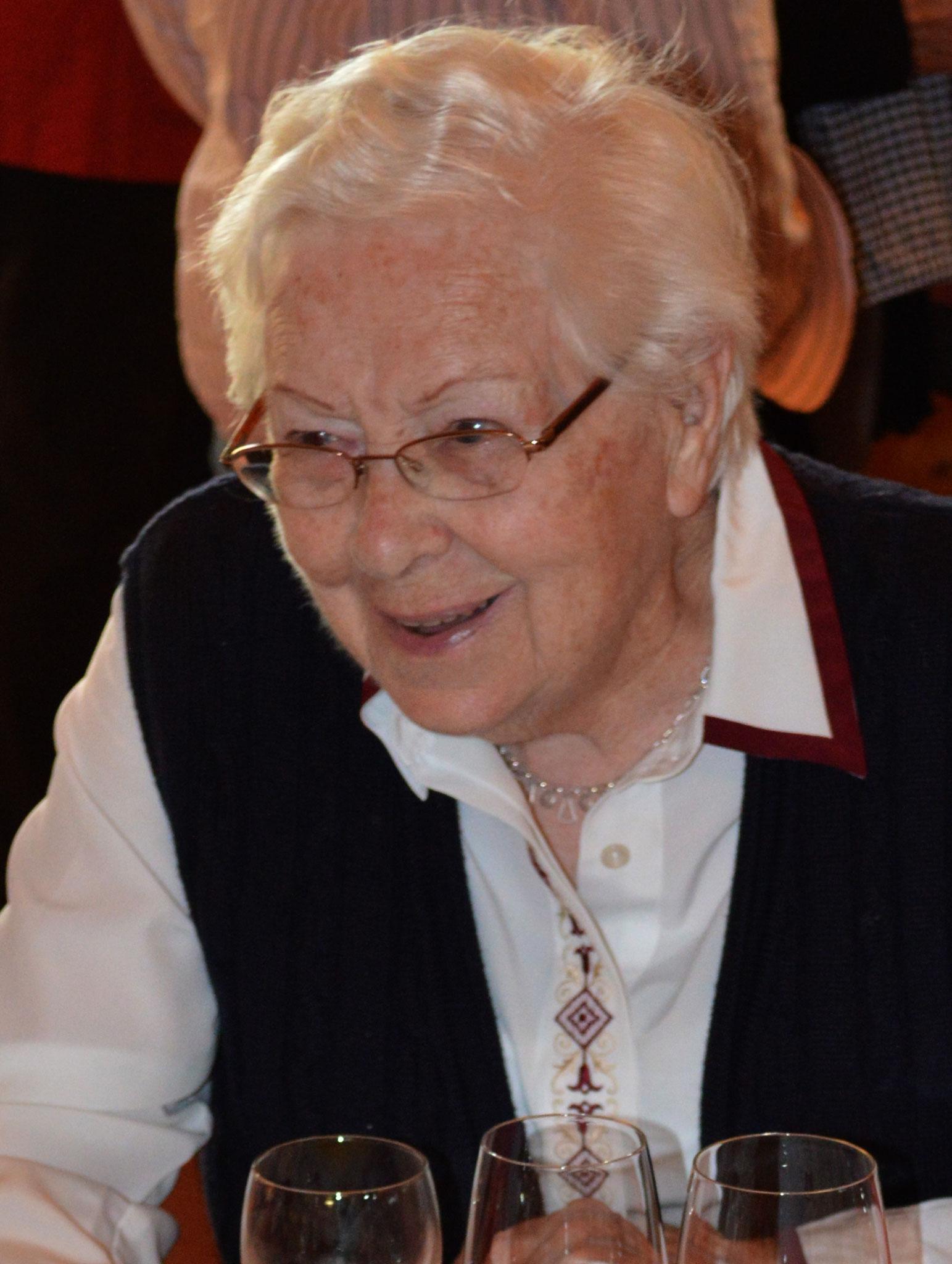 Gründungsmitglied Änneli Badertscher