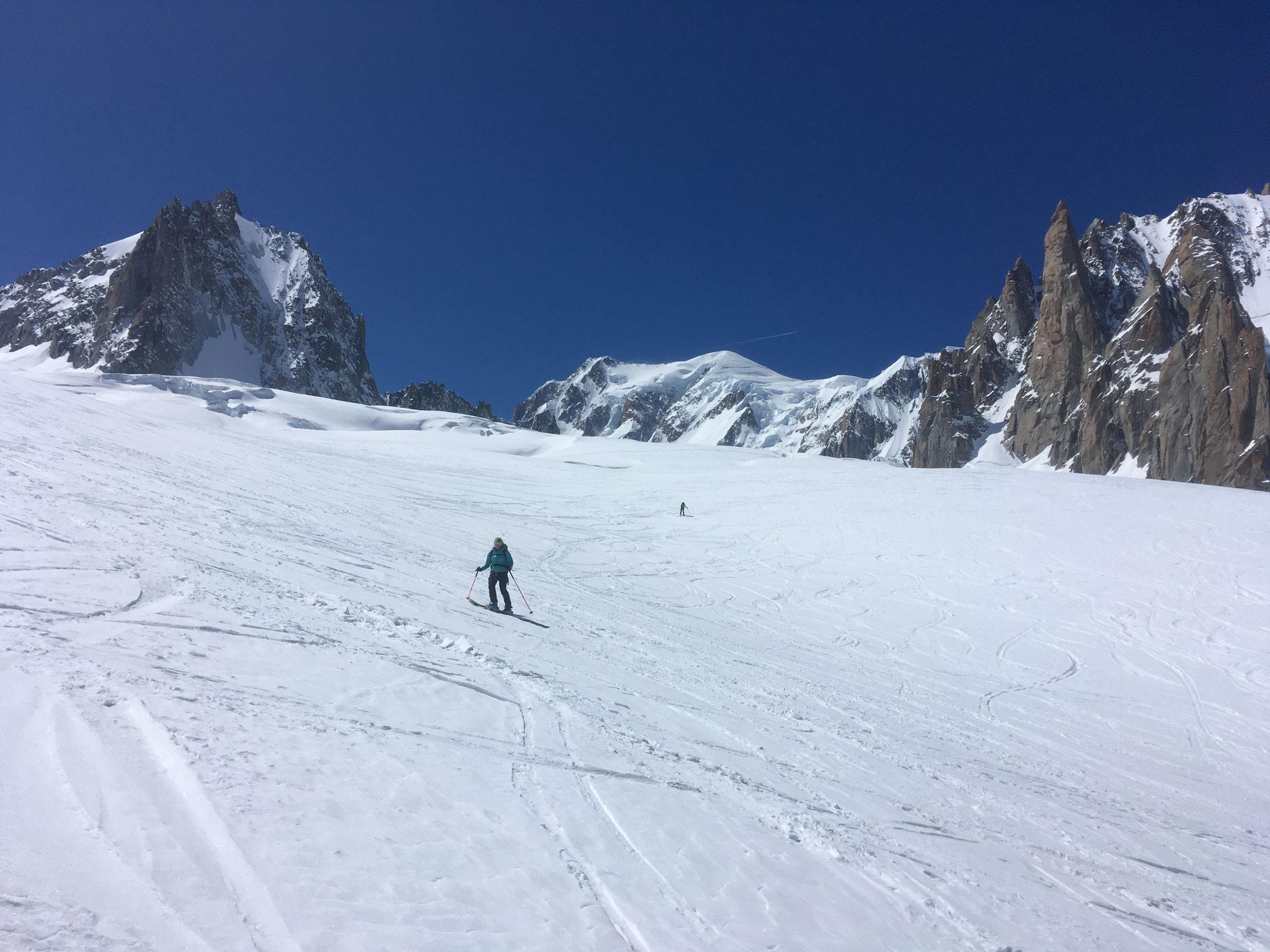 Du bon ski, et de la place...