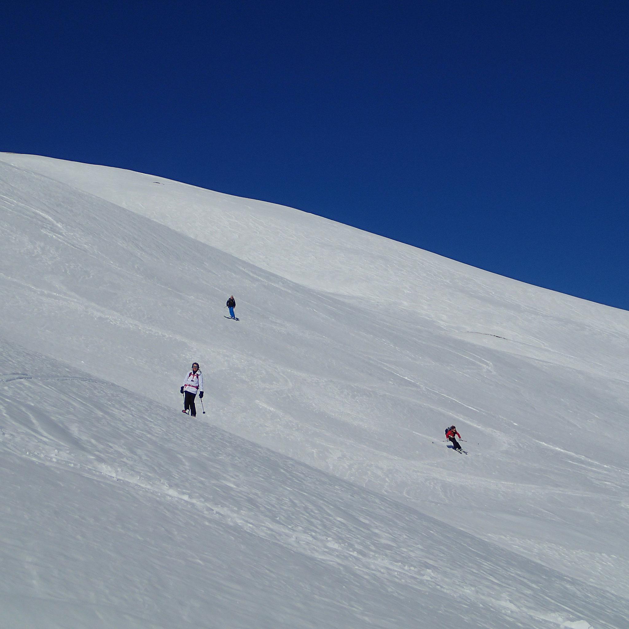 Du très grand ski à la descente