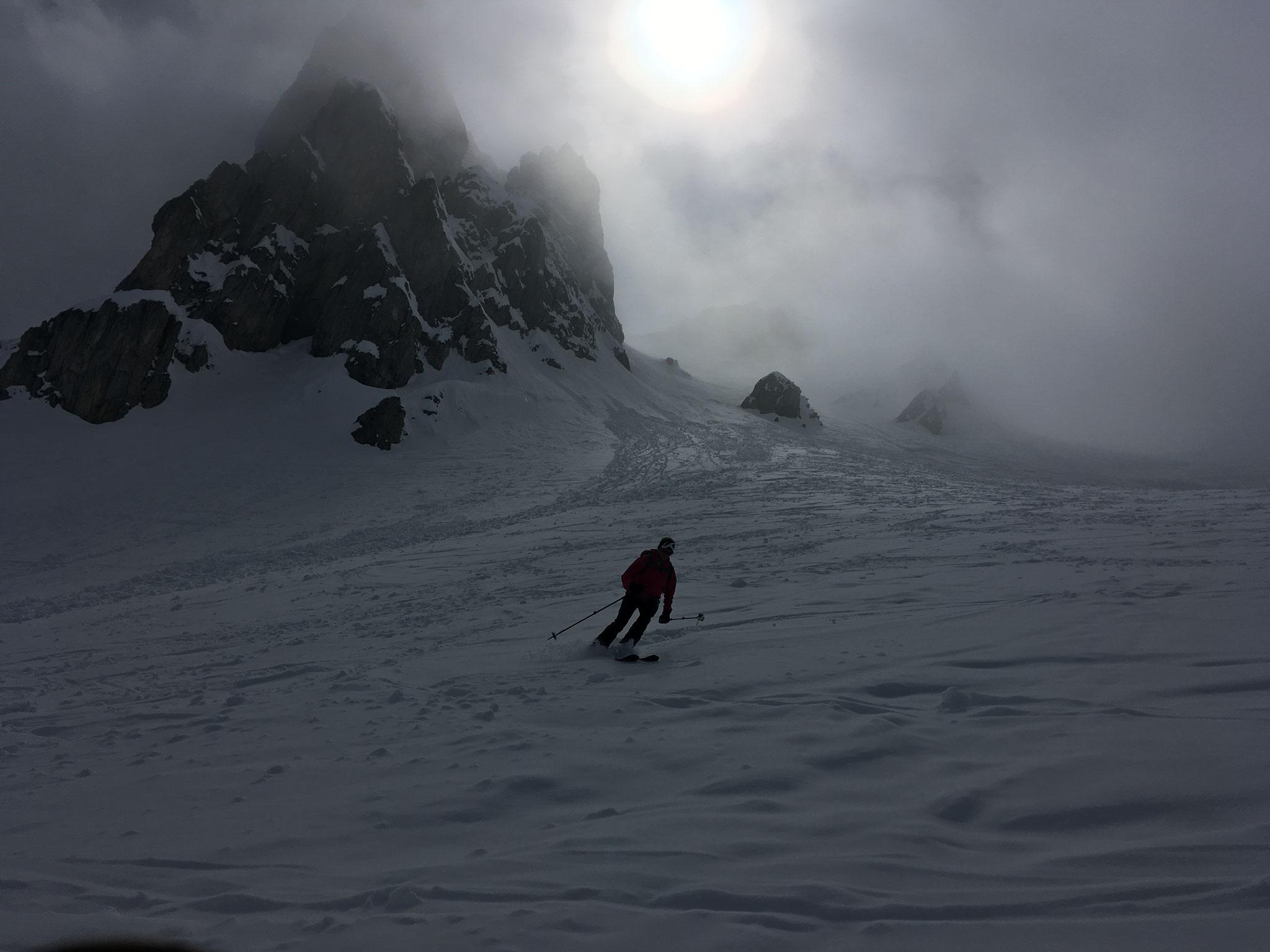 Super ski jusqu'à Notre Dame de La Gorge !