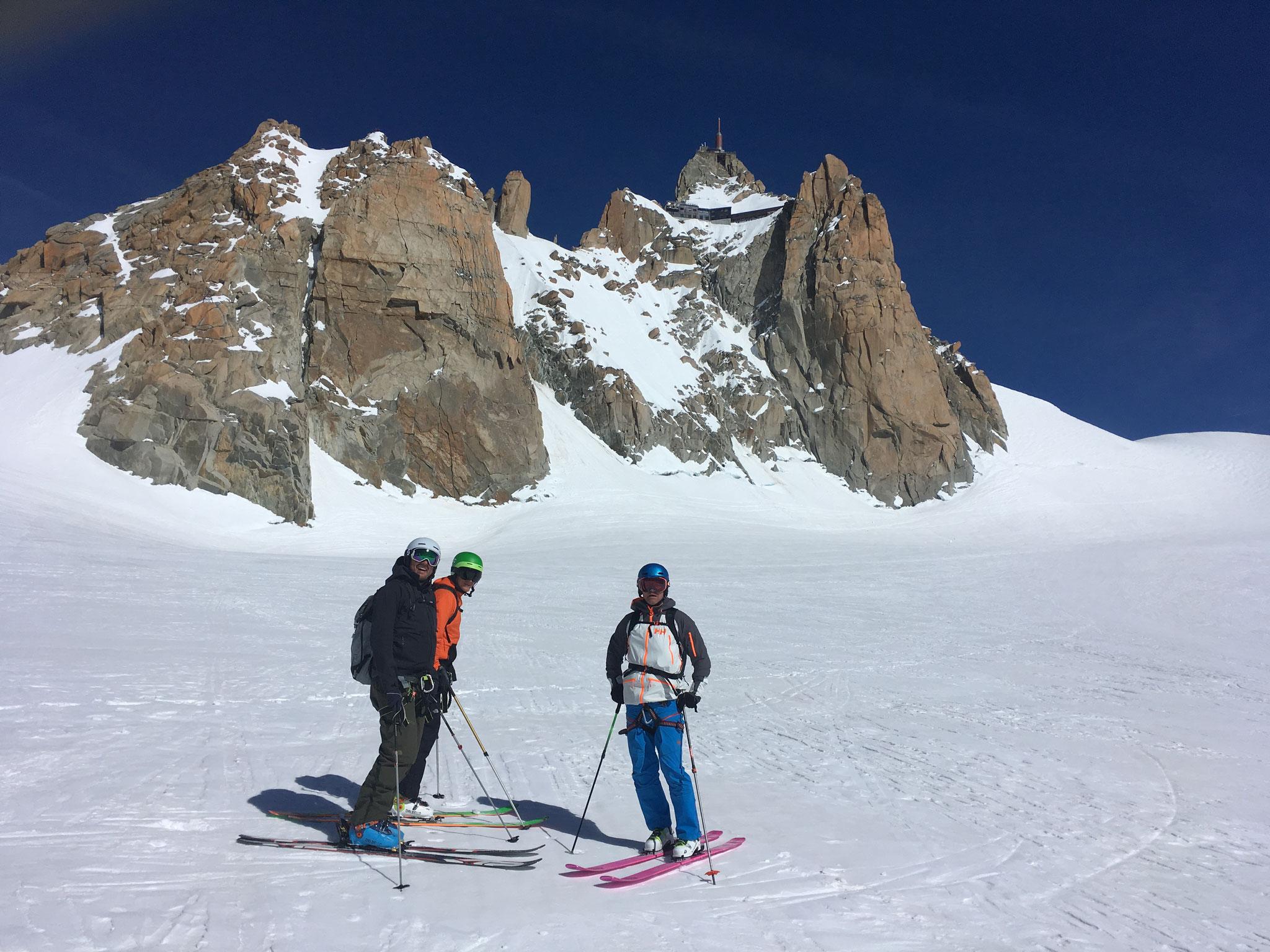 Col du Midi, de la place !