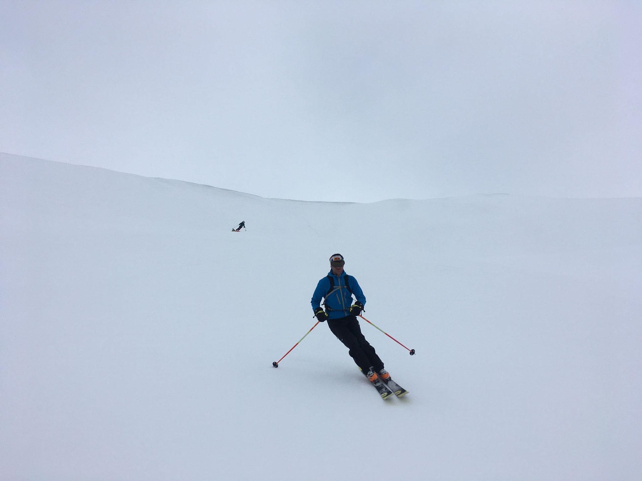 1100 m de descente et encore du bon ski !