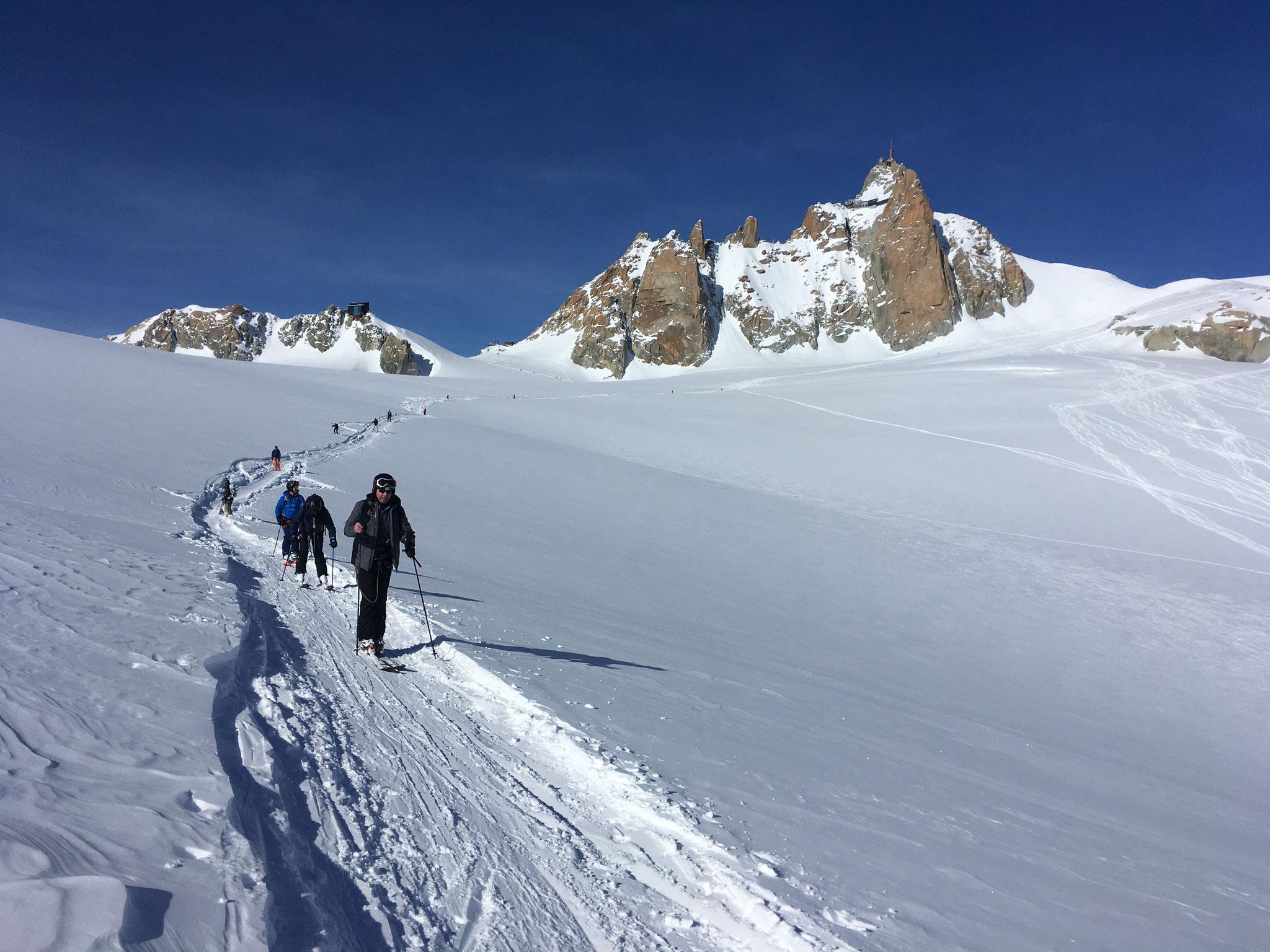 Les grands espaces du Col du Midi