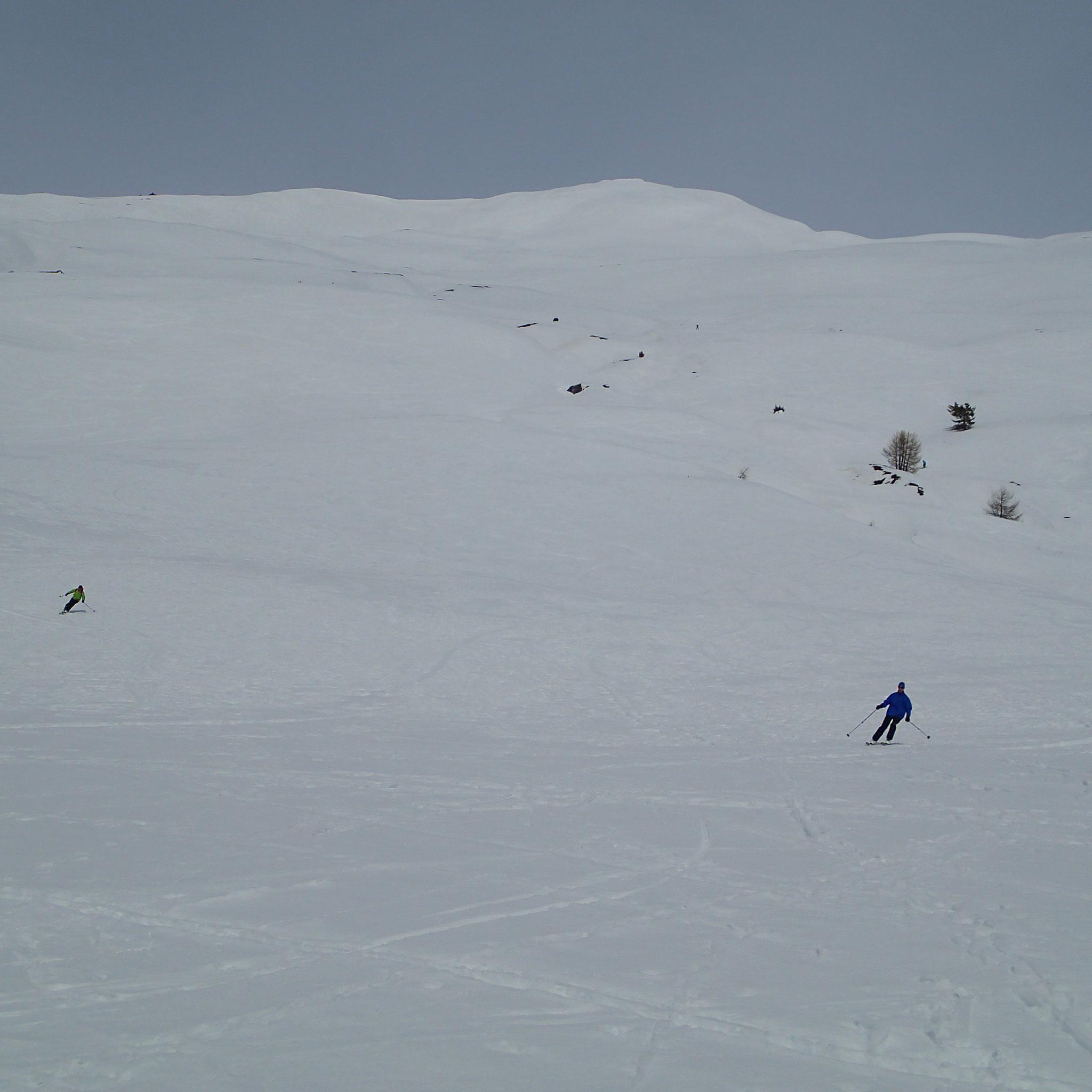 Une fois de plus, du très grand ski à la descente !