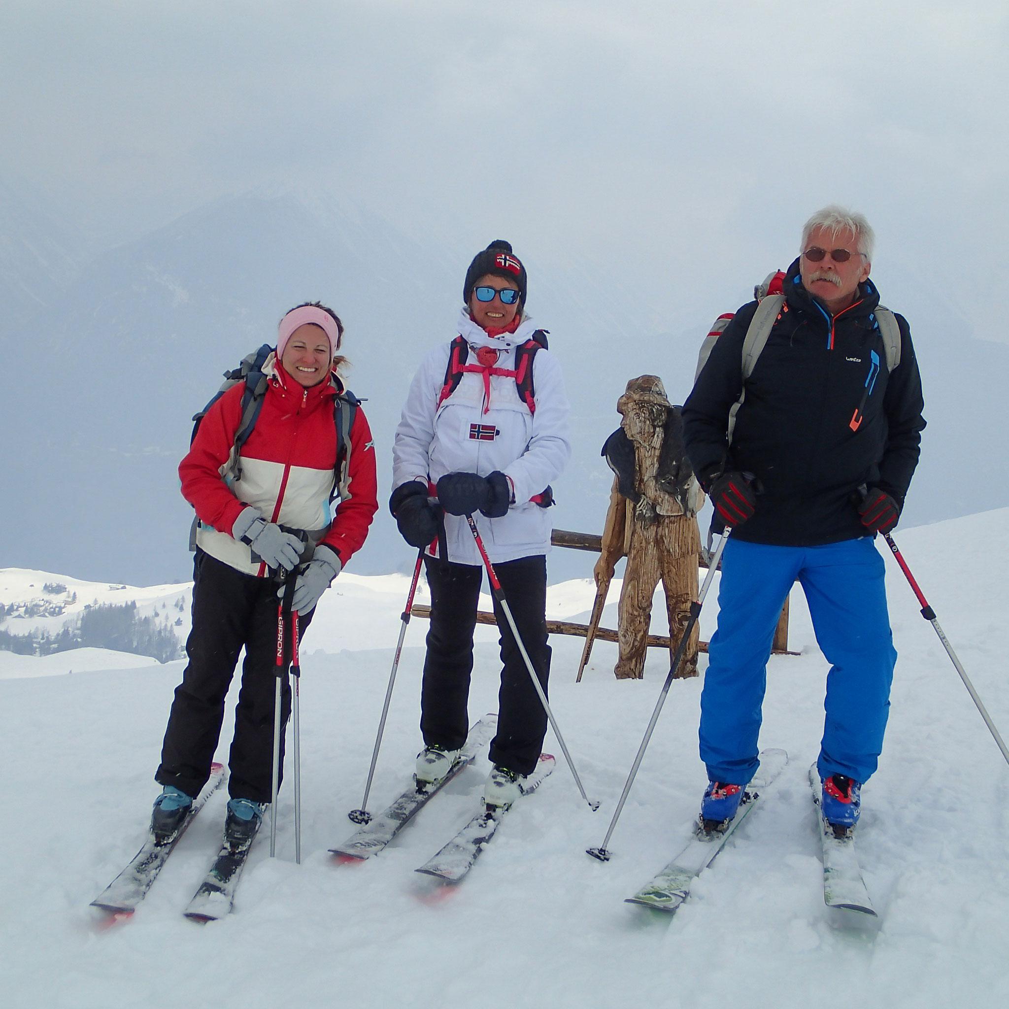 Il est temps de redescendre et skier !