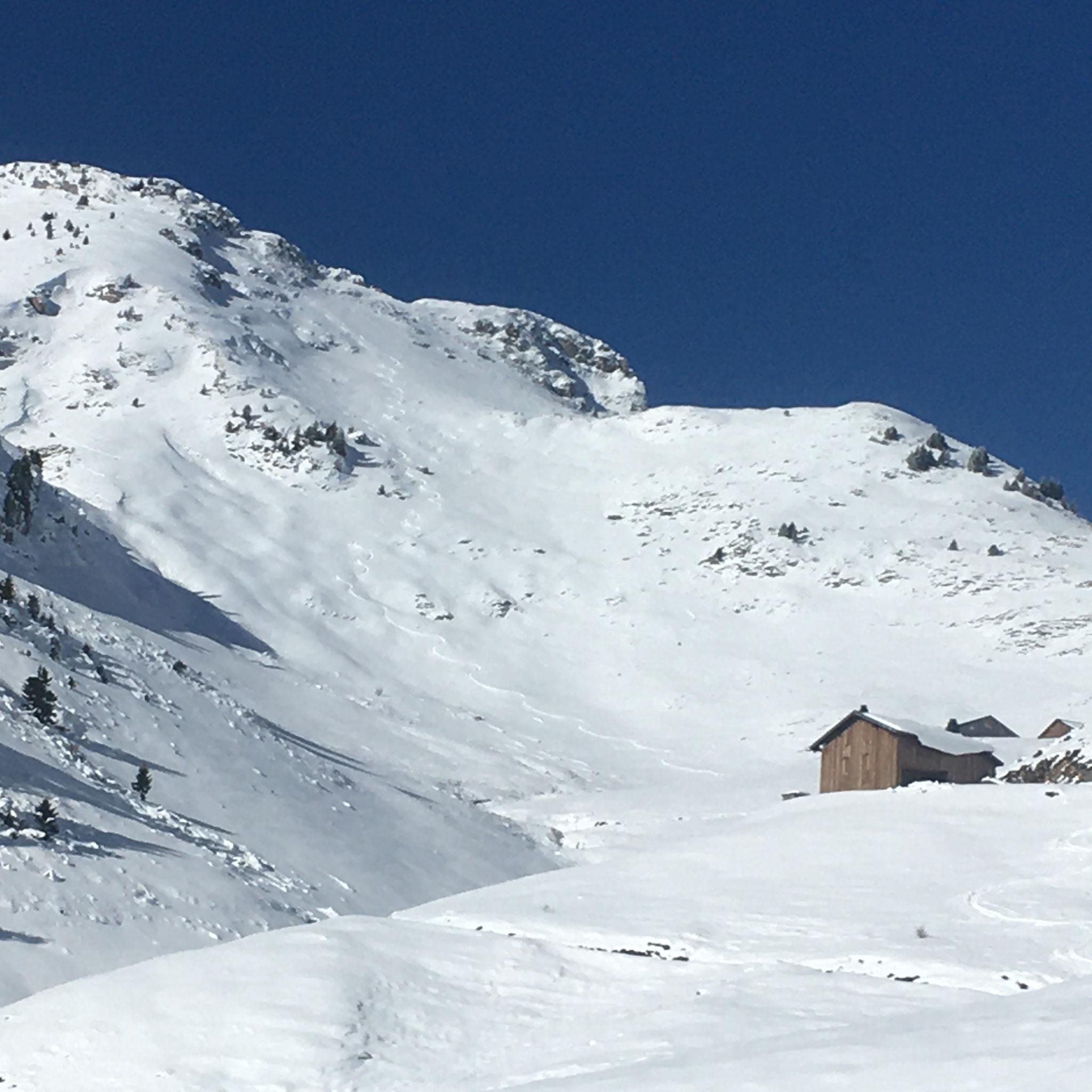 Bon et beau à skier, une belle trace... Quel plaisir !