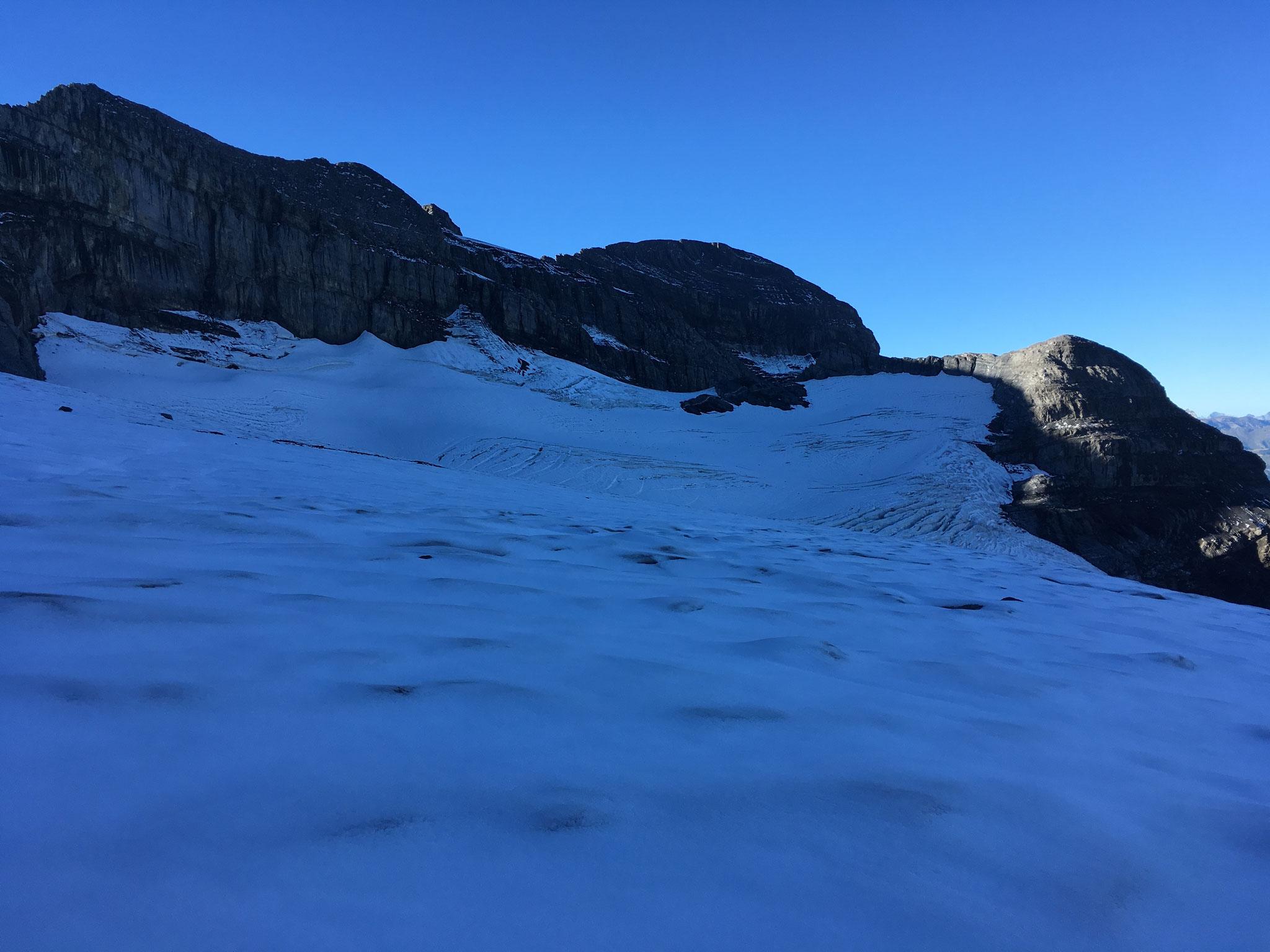 Premiers pas sur le Glacier de Prazon