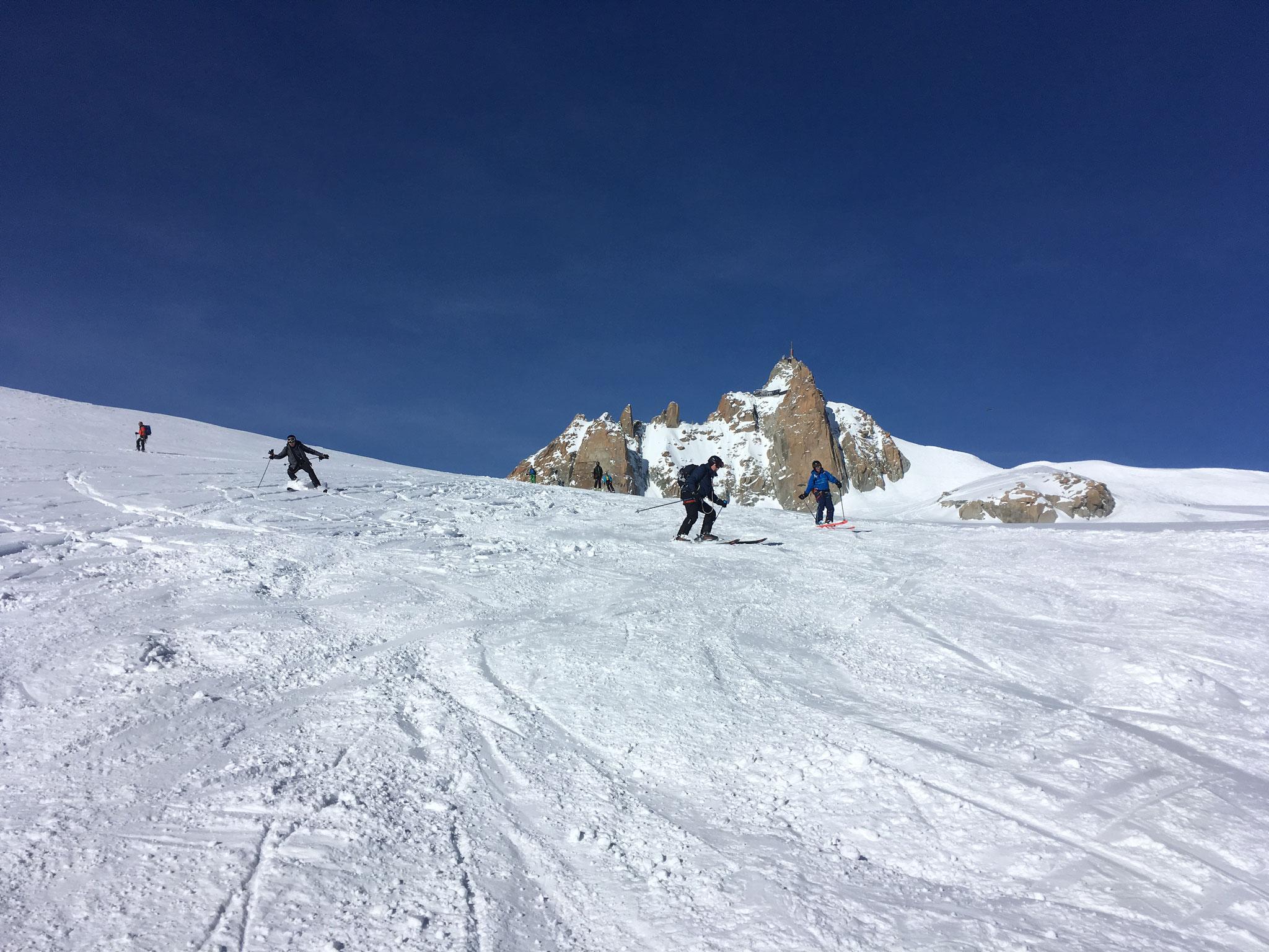 Belle qualité de neige, et des traces à faire !