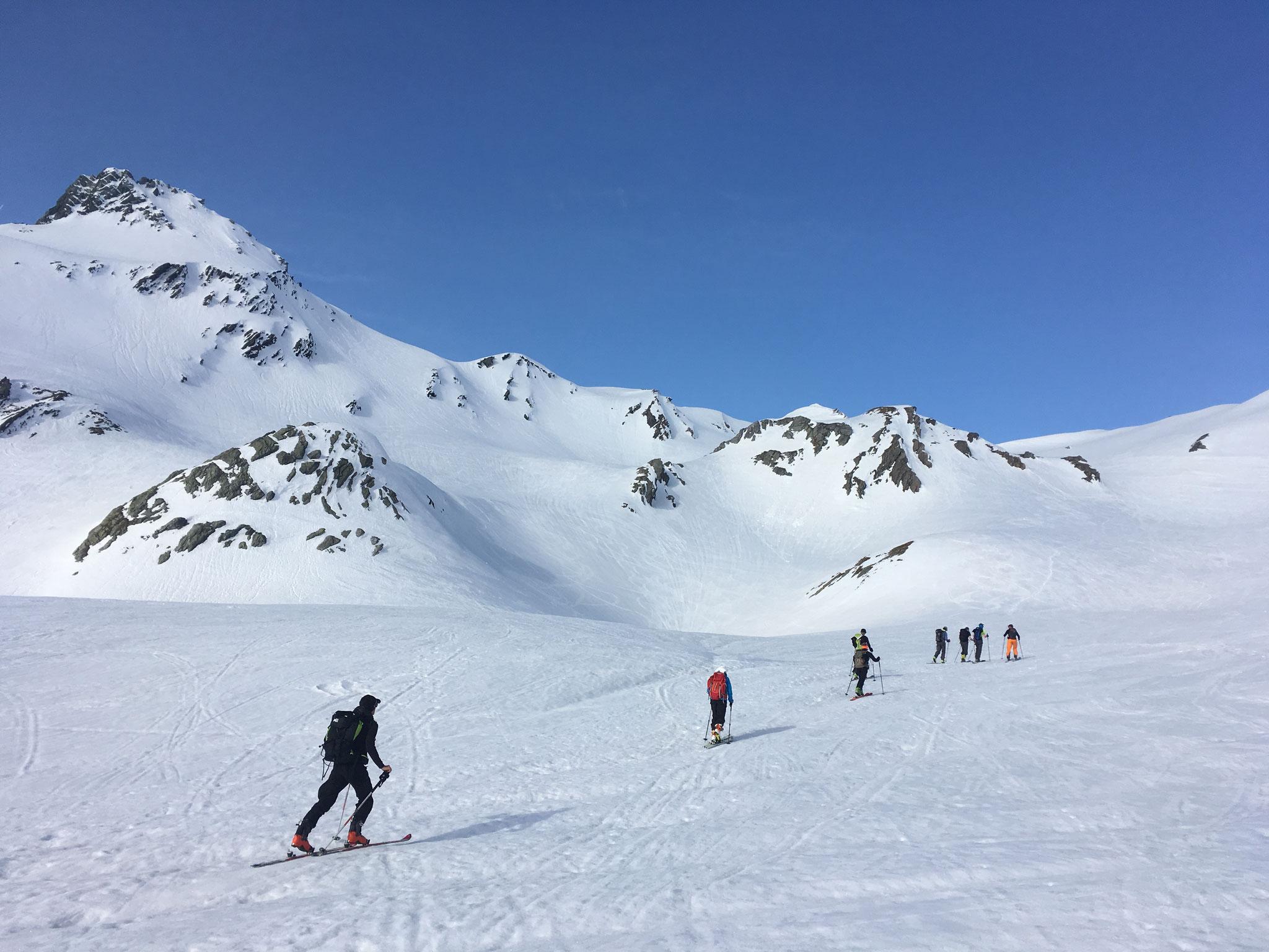 Au bout, le Mont Fourchon est en vue !