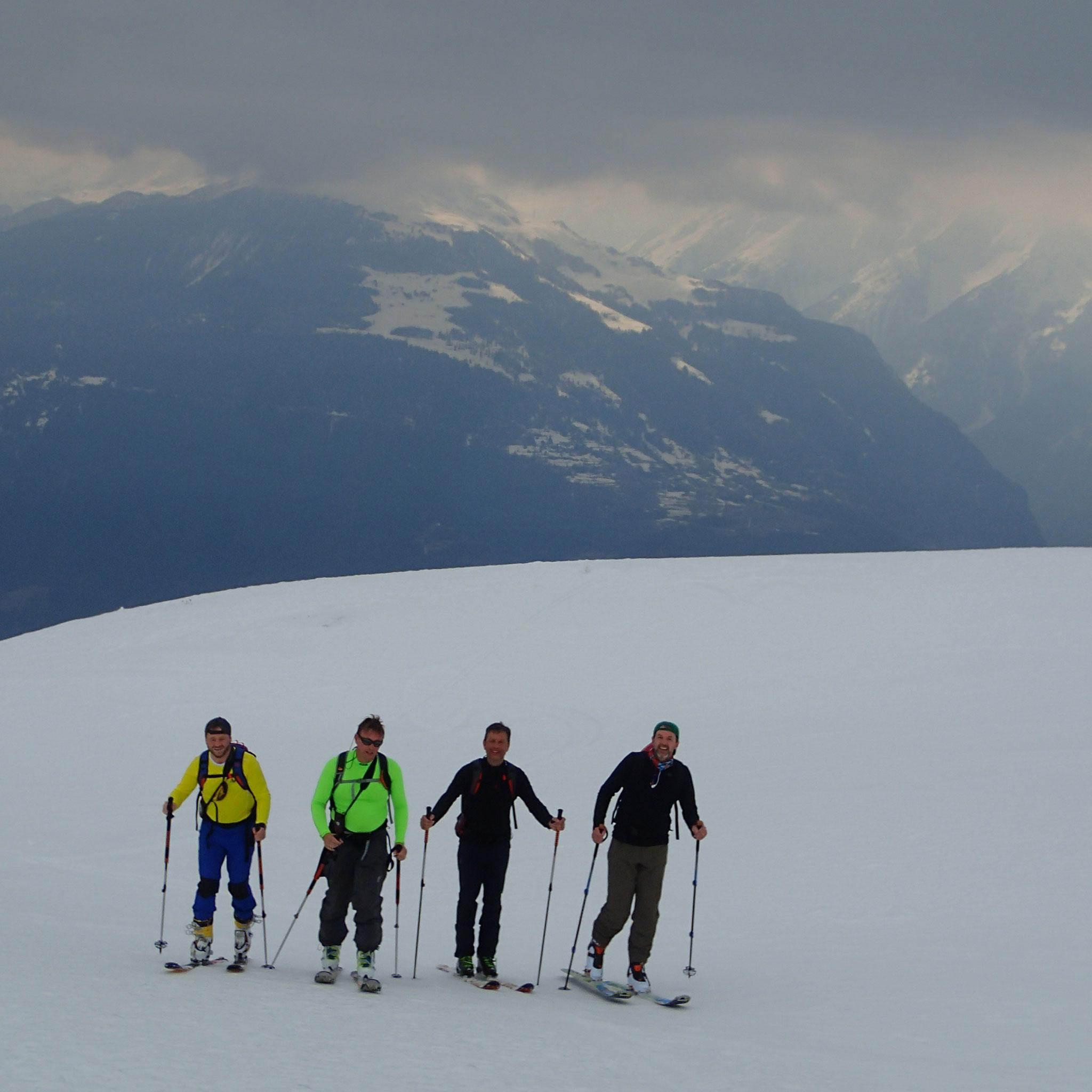 Les Daltons font du ski