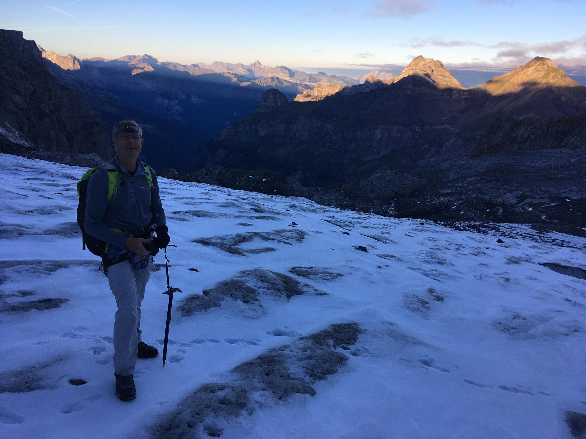 Sur le Glacier du Ruan