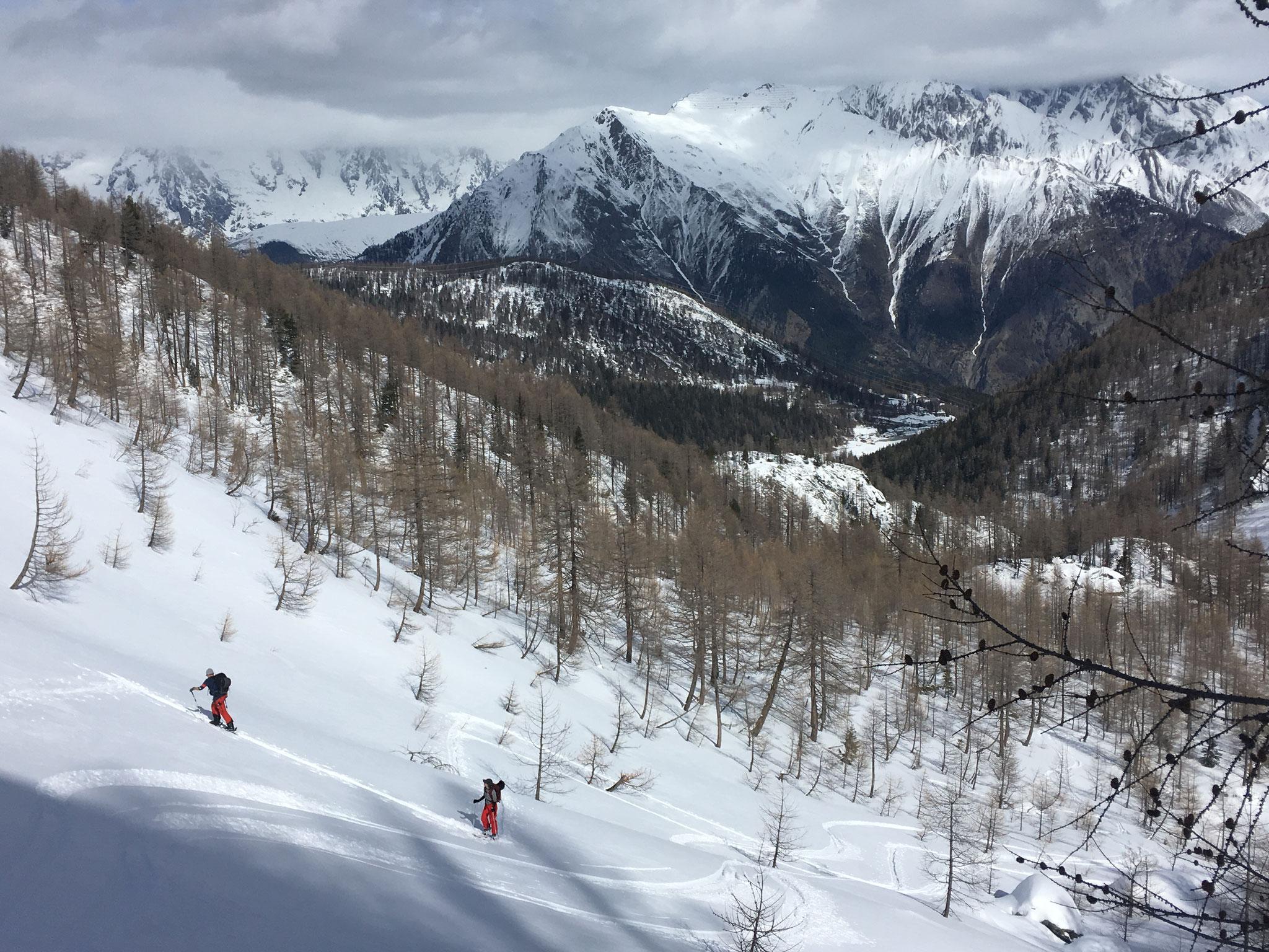 Beau coin, belle vue, et belle neige !