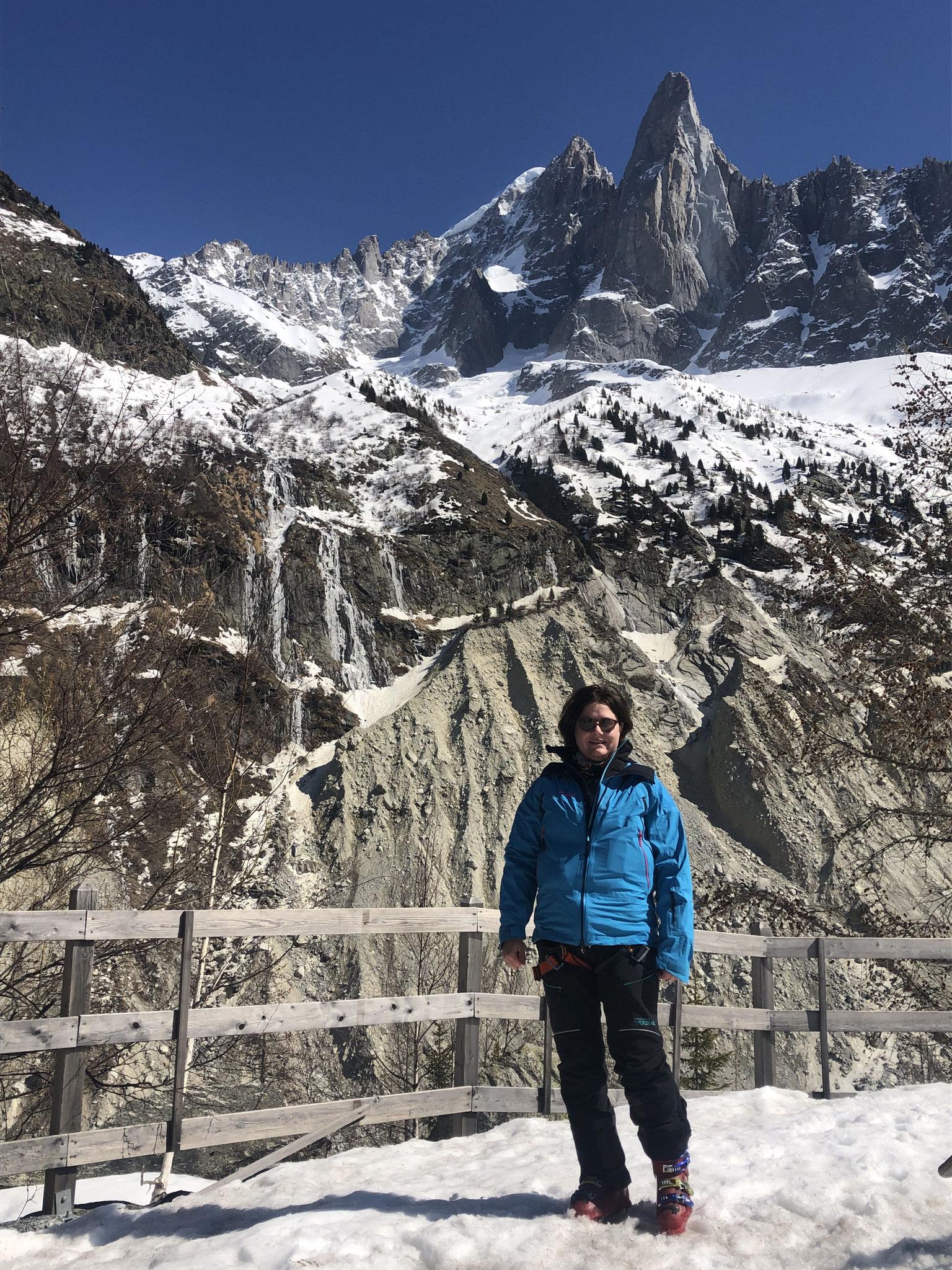 Passage aux Mottets avant de rejoindre Chamonix