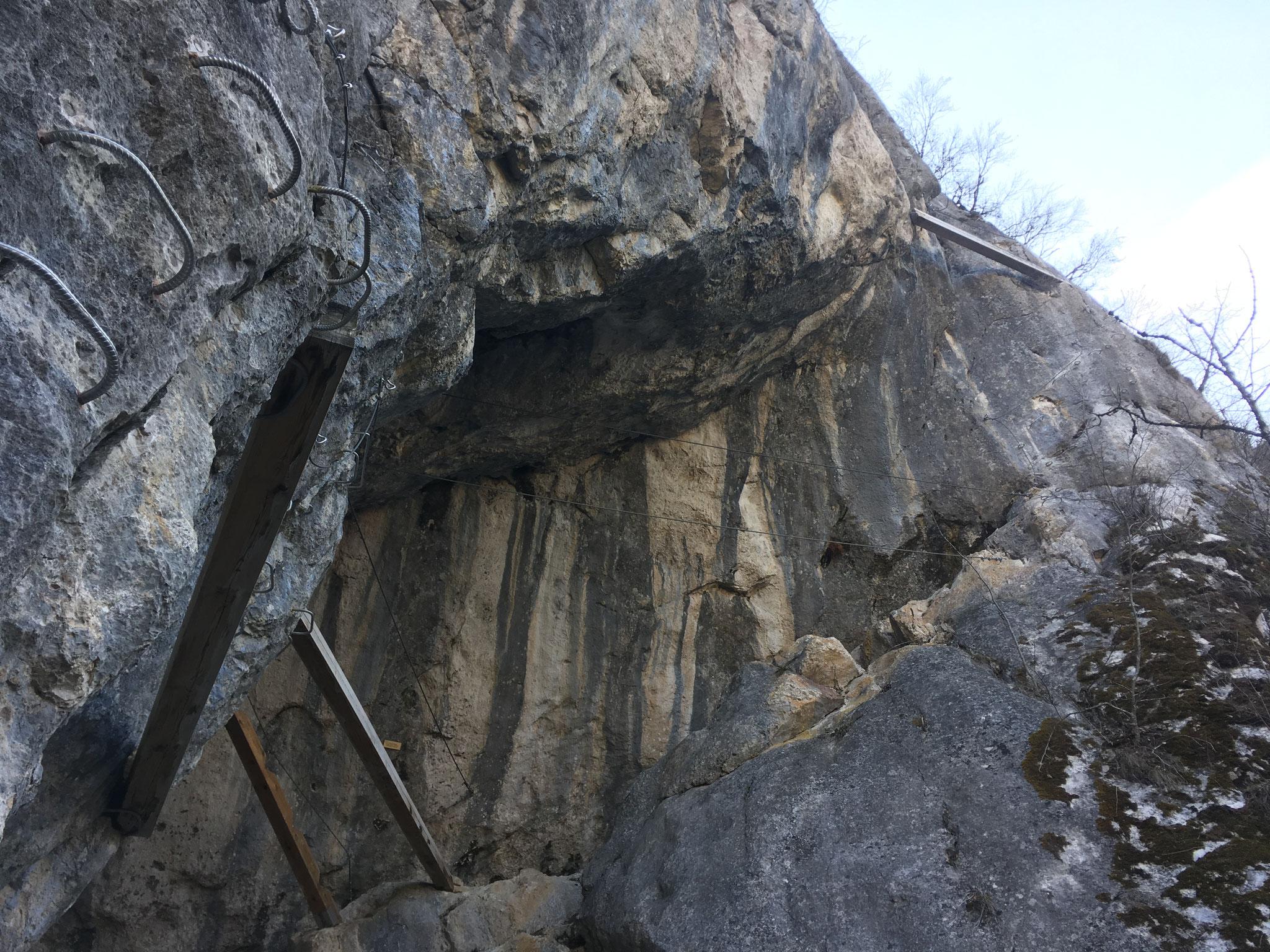 La fameuse Grotte de Cristal, avec des passages physiques et spectaculaires