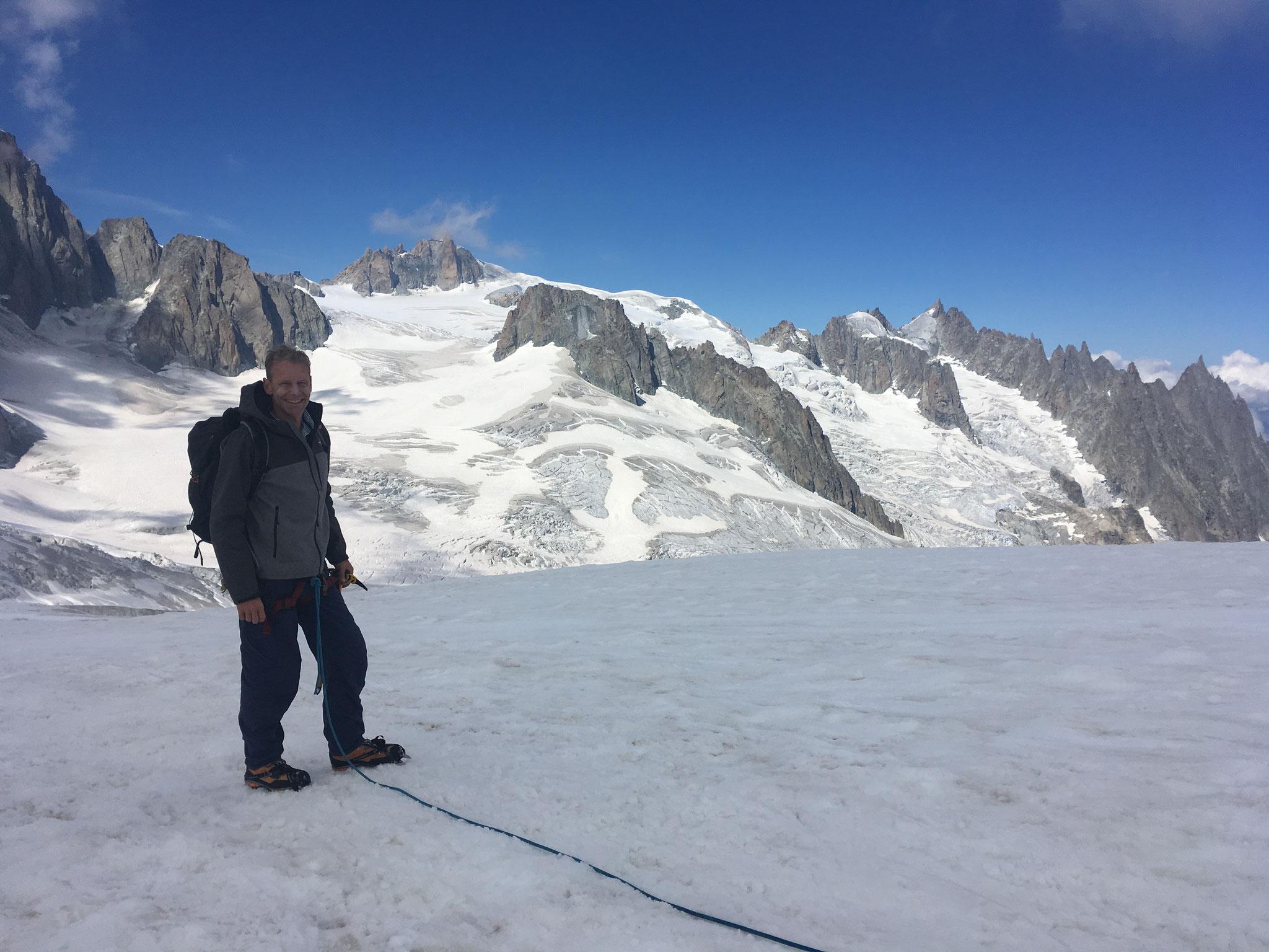 Retour sur le Glacier du Géant