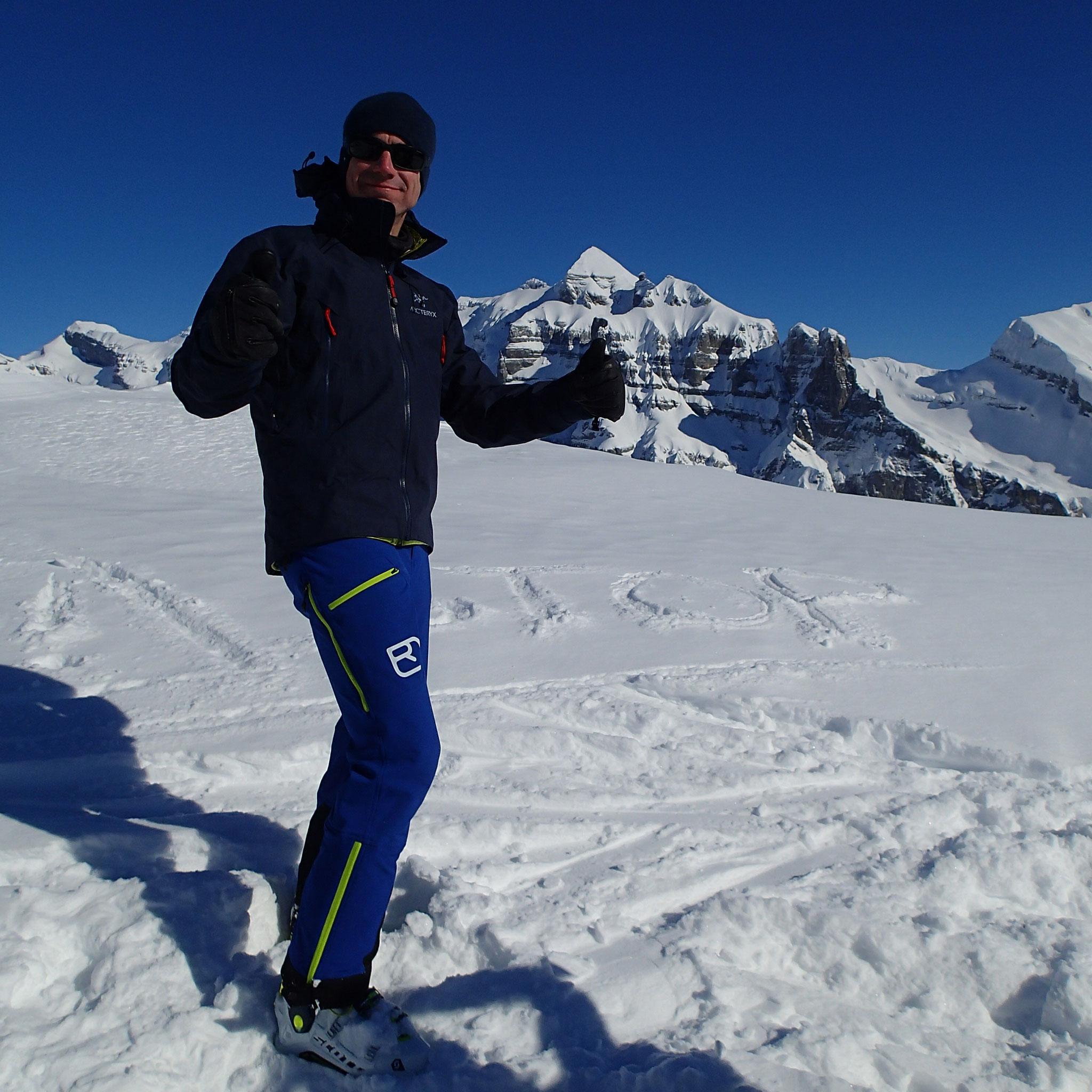 Bravo Fabrice ! Summit !
