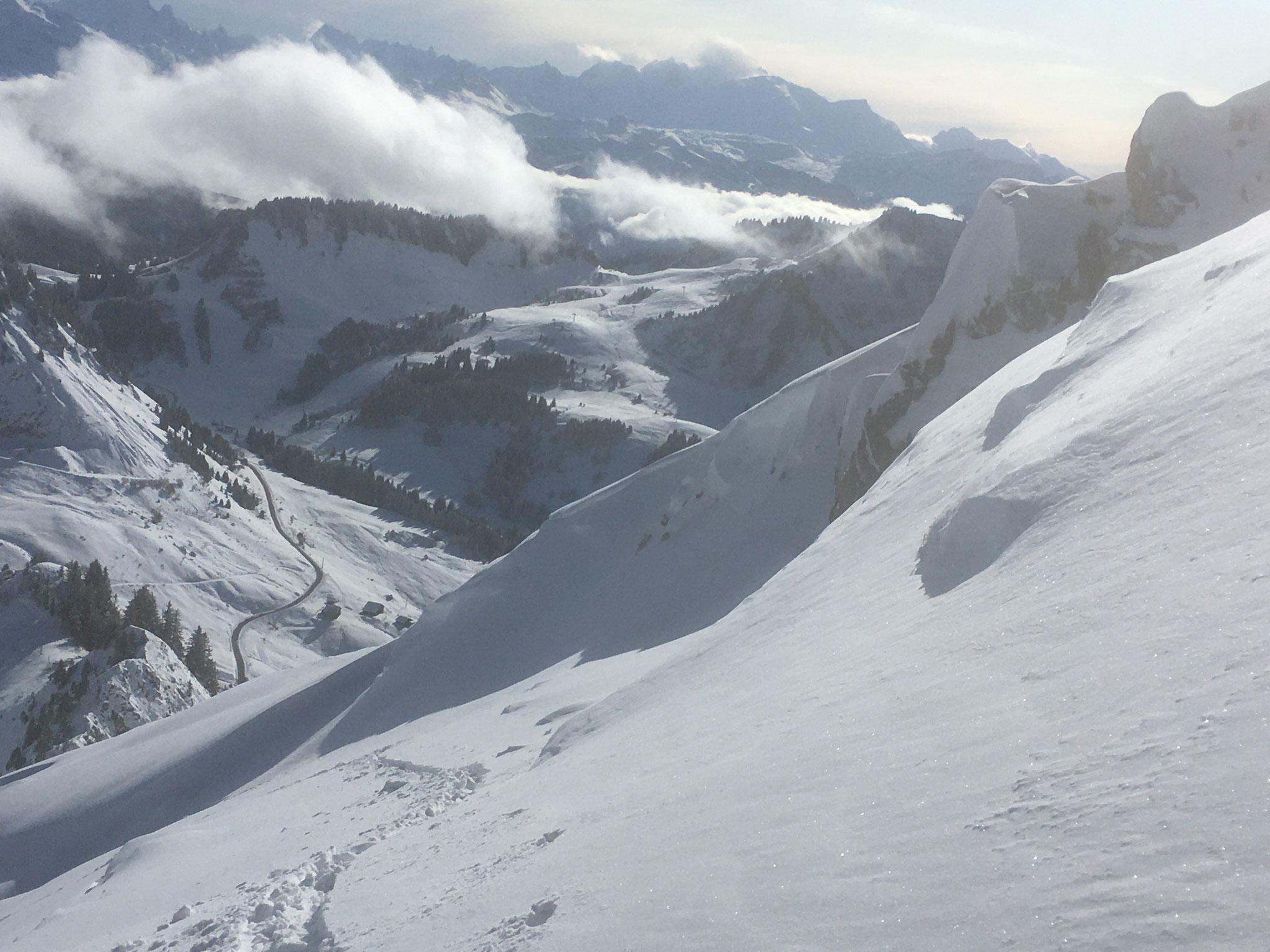Mi-Novembre en montagne, c'est déjà l'hiver !