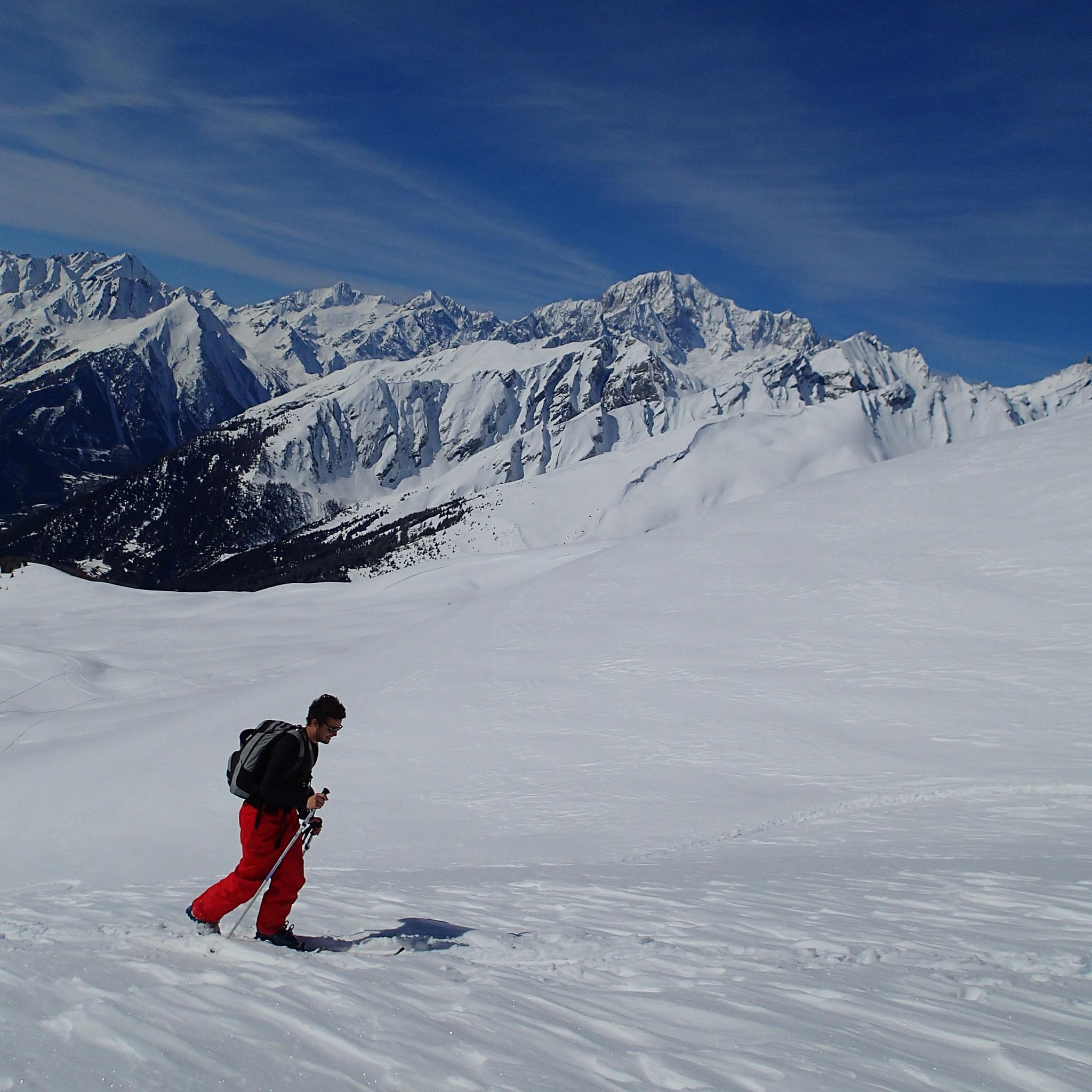 Milan le rejoint aussi, sous le regard du Mt-Blanc