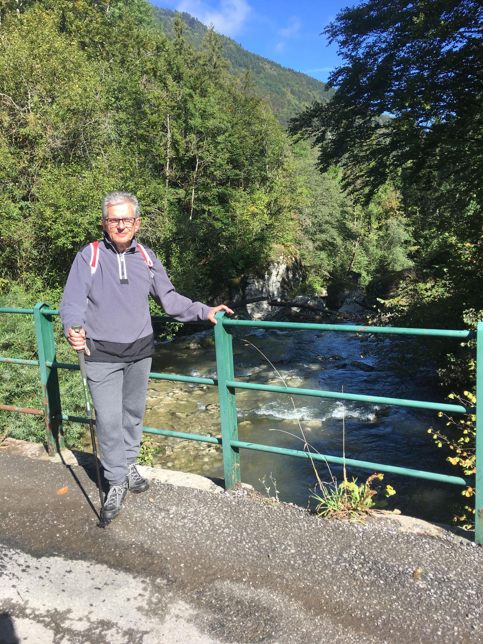 2ème étape et passage sur Le Brevon avant Bellevaux