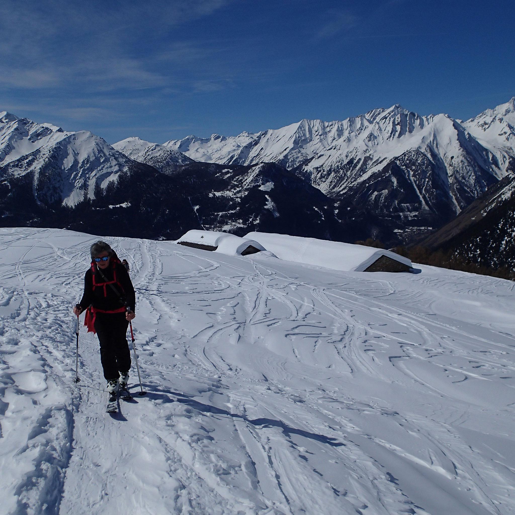 A l'alpage des Ors. Encore un effort !