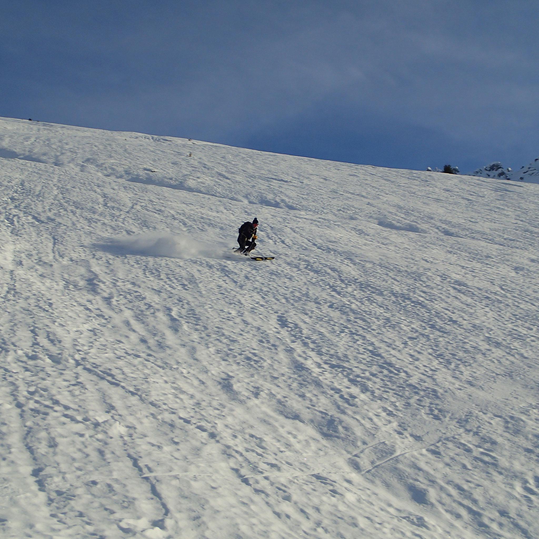 De belles pentes, du bon ski. Le Top !