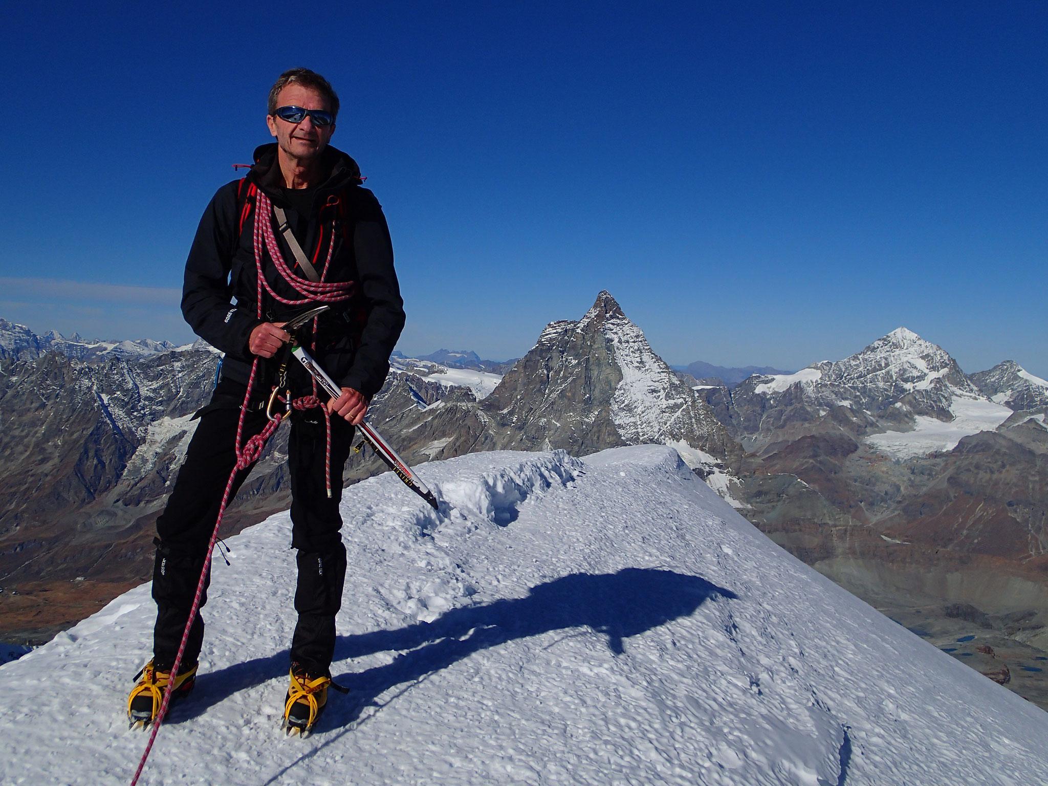 Et un autre 4000 m pour Gérard!