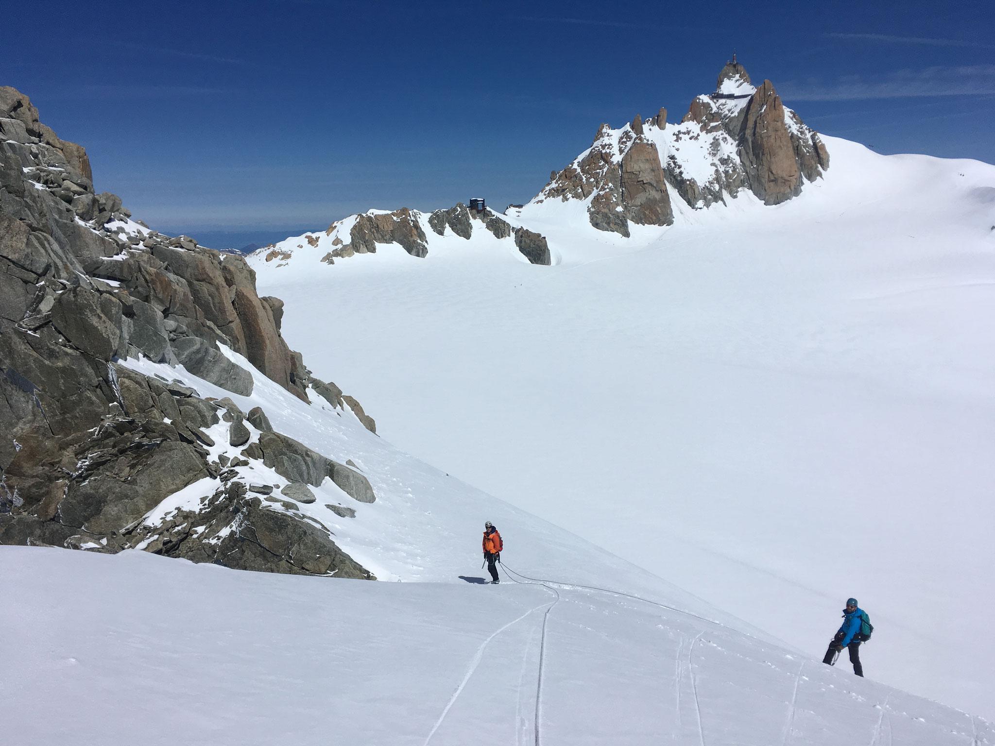 Alex, Raph et les grands espaces du Col du Midi
