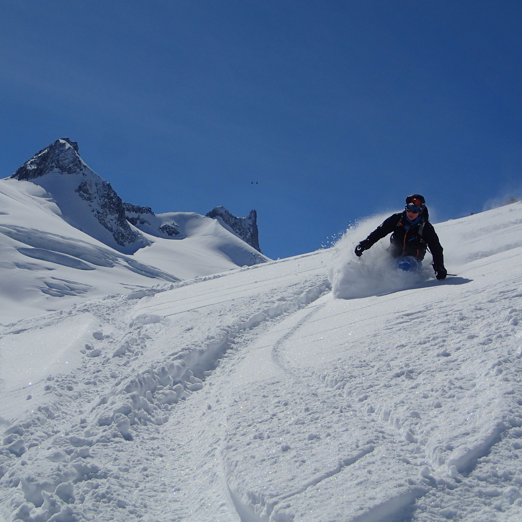 Pff ... De la profonde neige !!!!! Fantastique !!