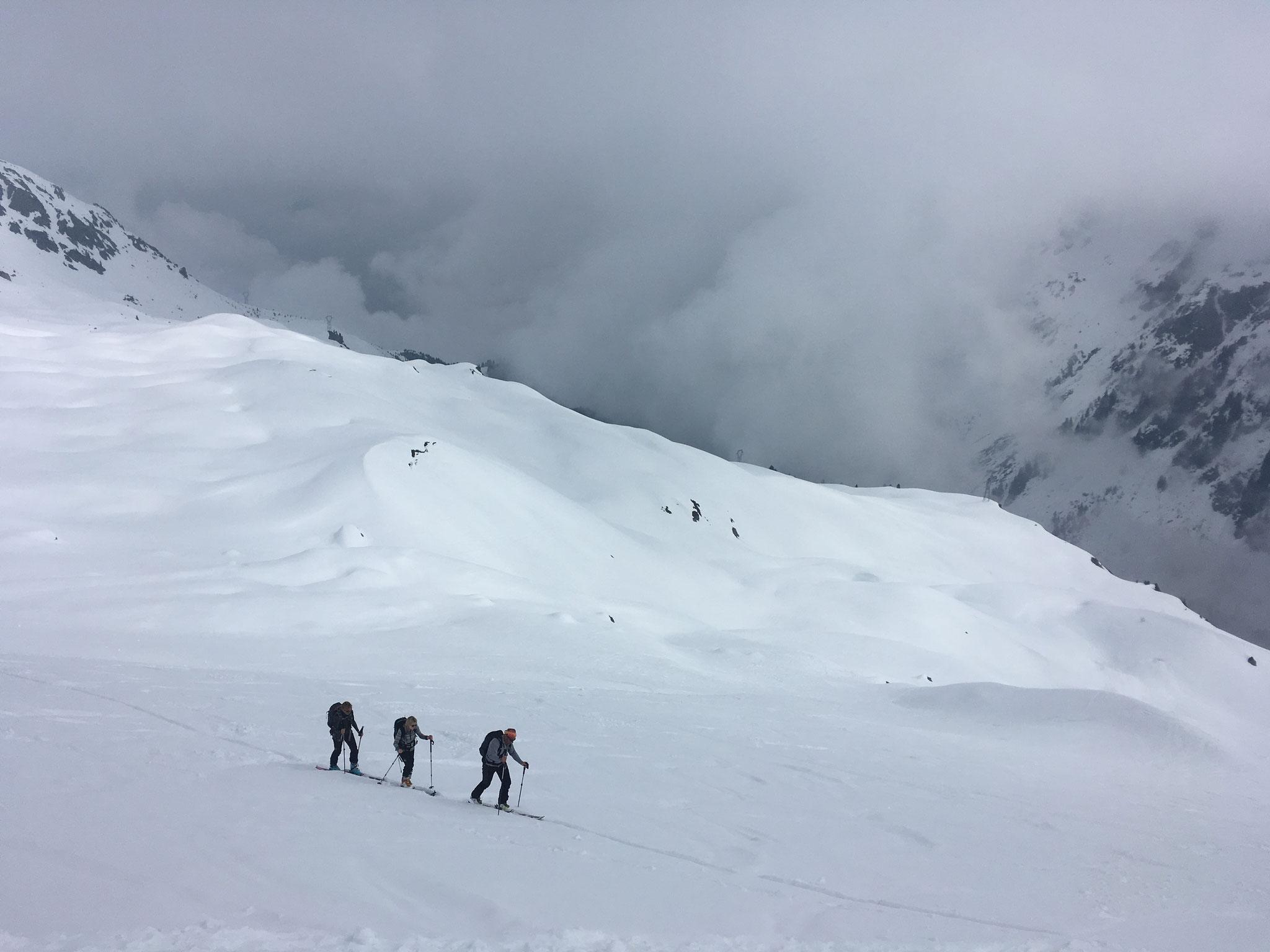 Remontée au Col de La Cicle