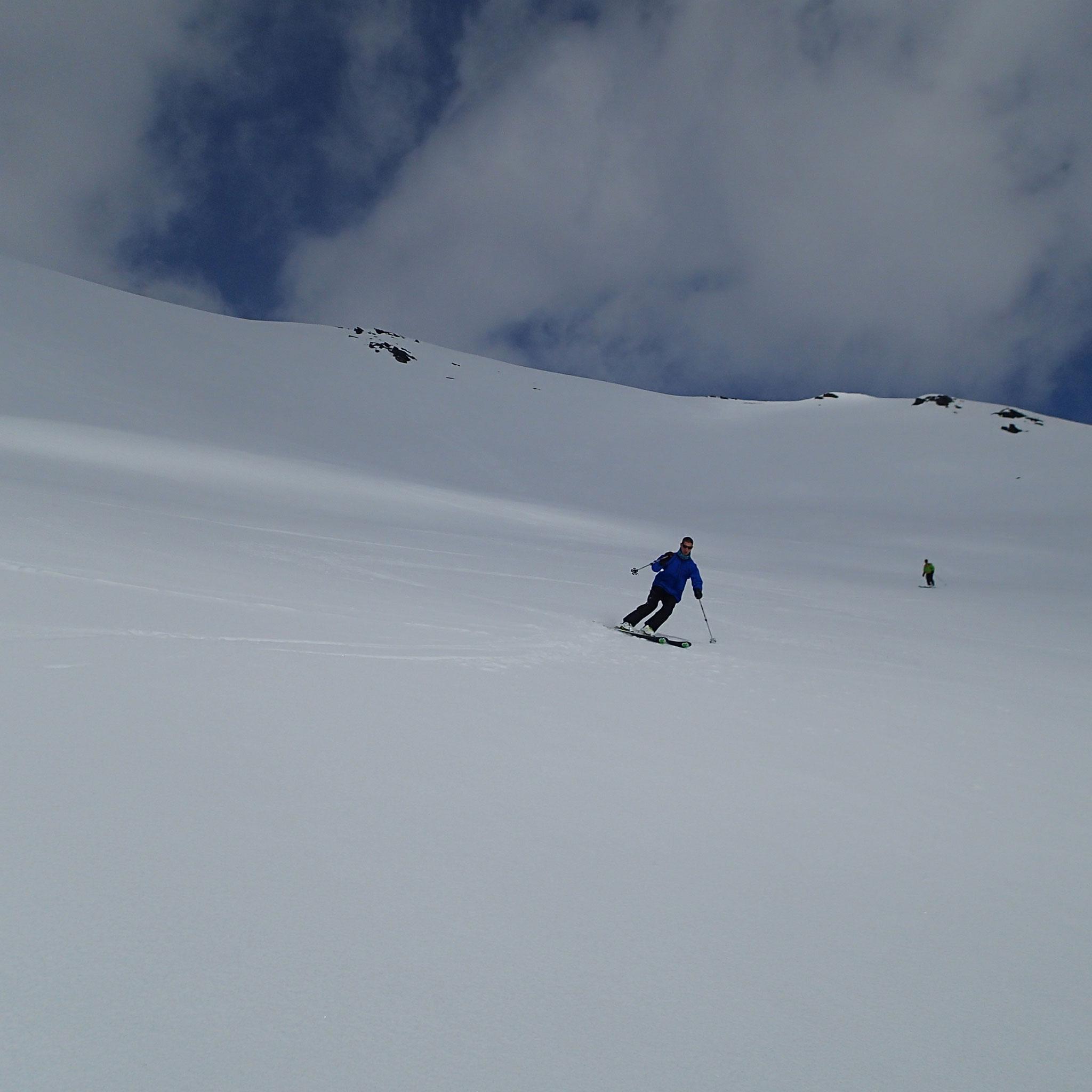 Marc ouvre pour du grand ski