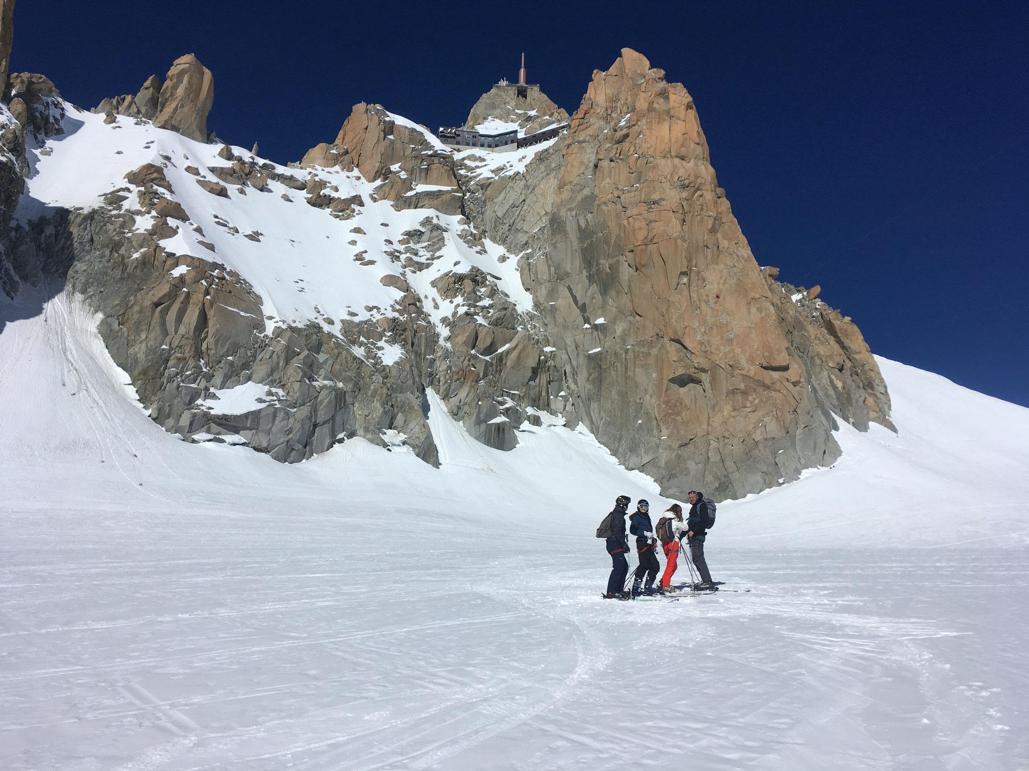 Grands espaces au plateau du Col du Midi