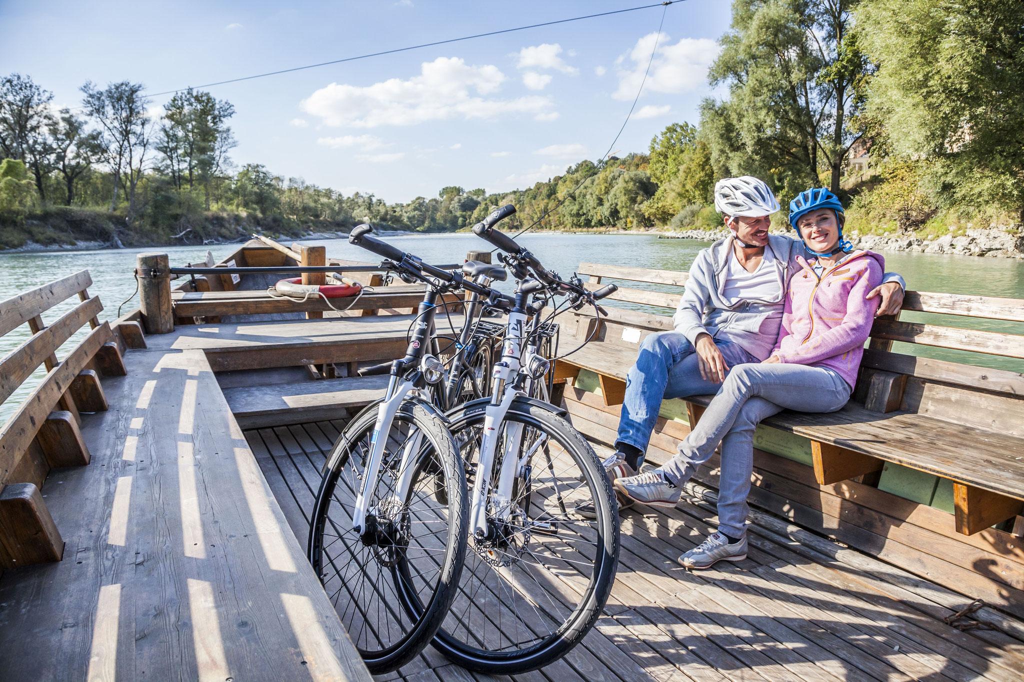 Unterwegs im Radel-Paradies zwischen Inn und Salzach  /  © Inn-Salzach Tourismus