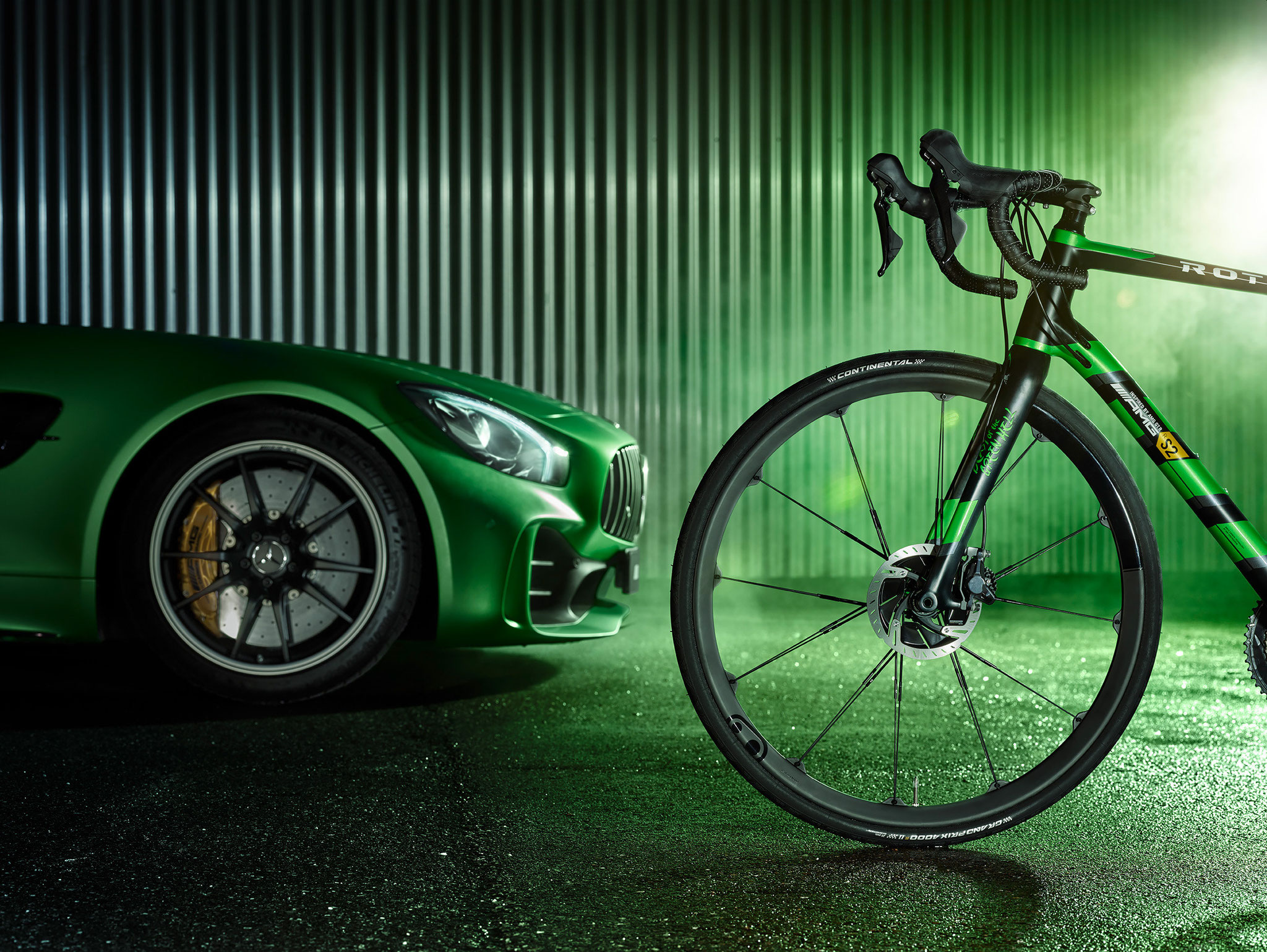 "ROTWILD und Mercedes-AMG stellen vor: R.S2 Limited Edition ""Beast of the Green Hell"""