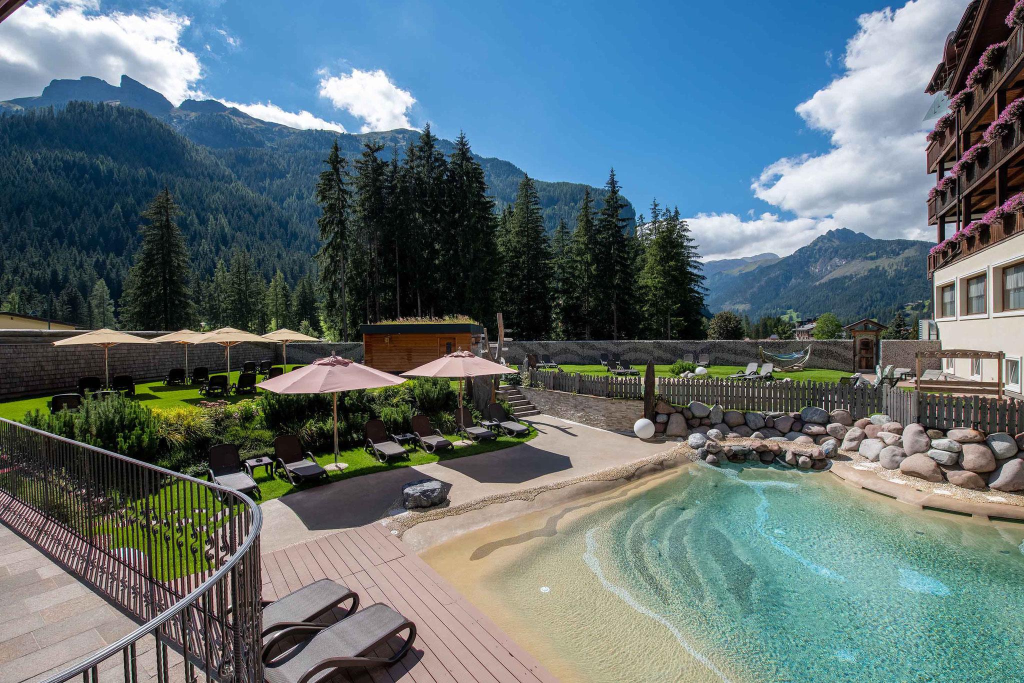 Hotel Croce Bianca - Außenschwimmbecken