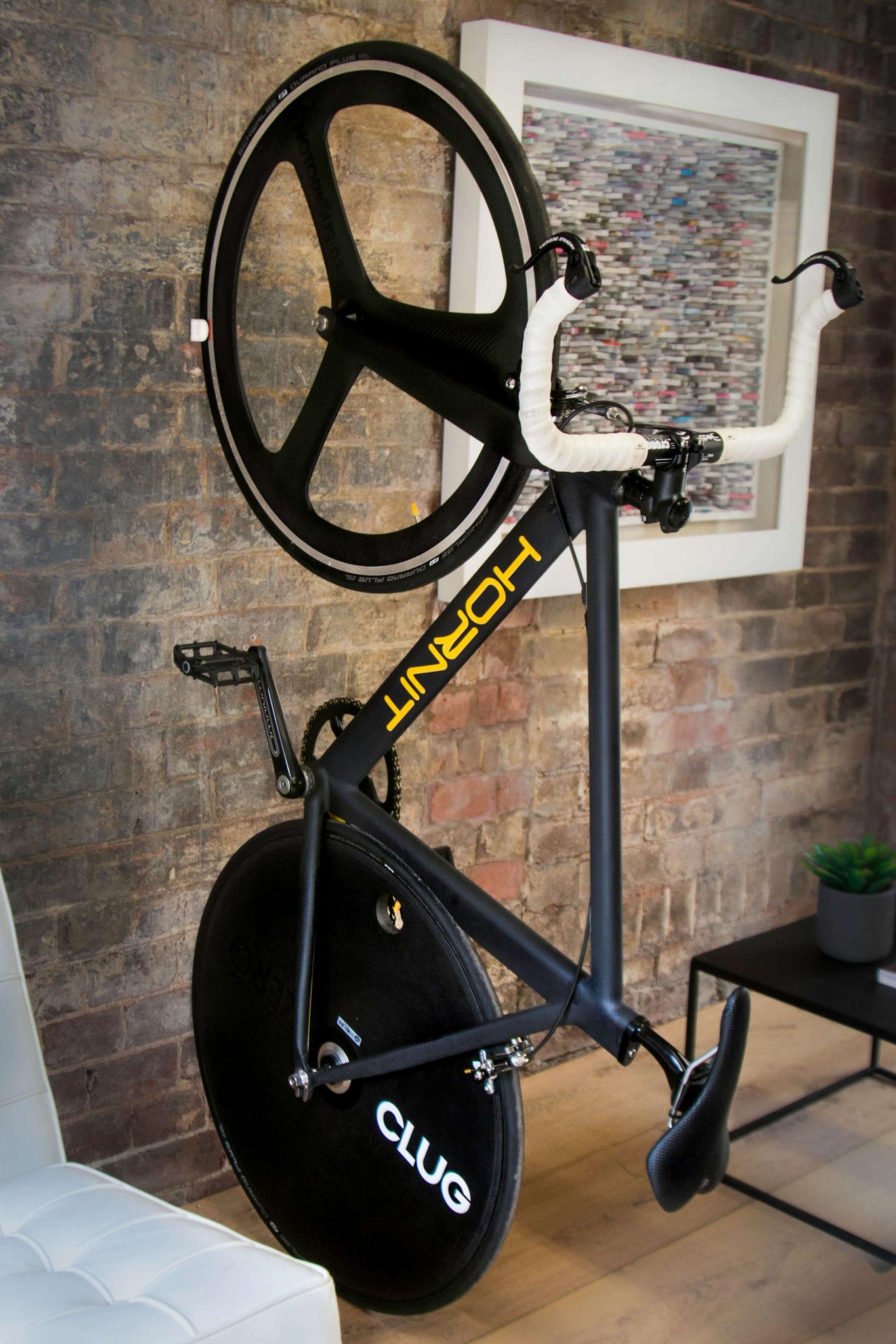 Für Rennräder und Fahrräder mit schmalen Reifen ©CLUG