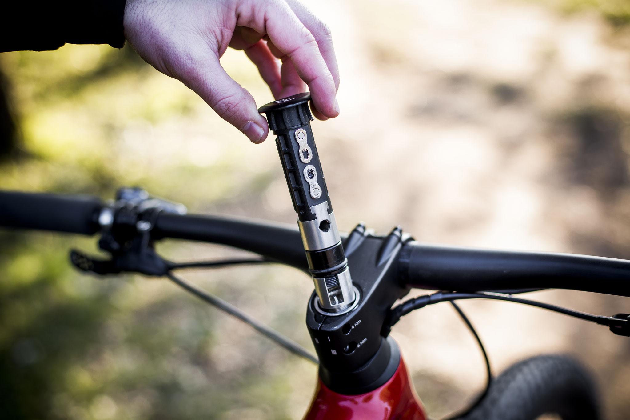 BH Bikes neu präsentiertes FIT-System (Fast Intervention Tool)