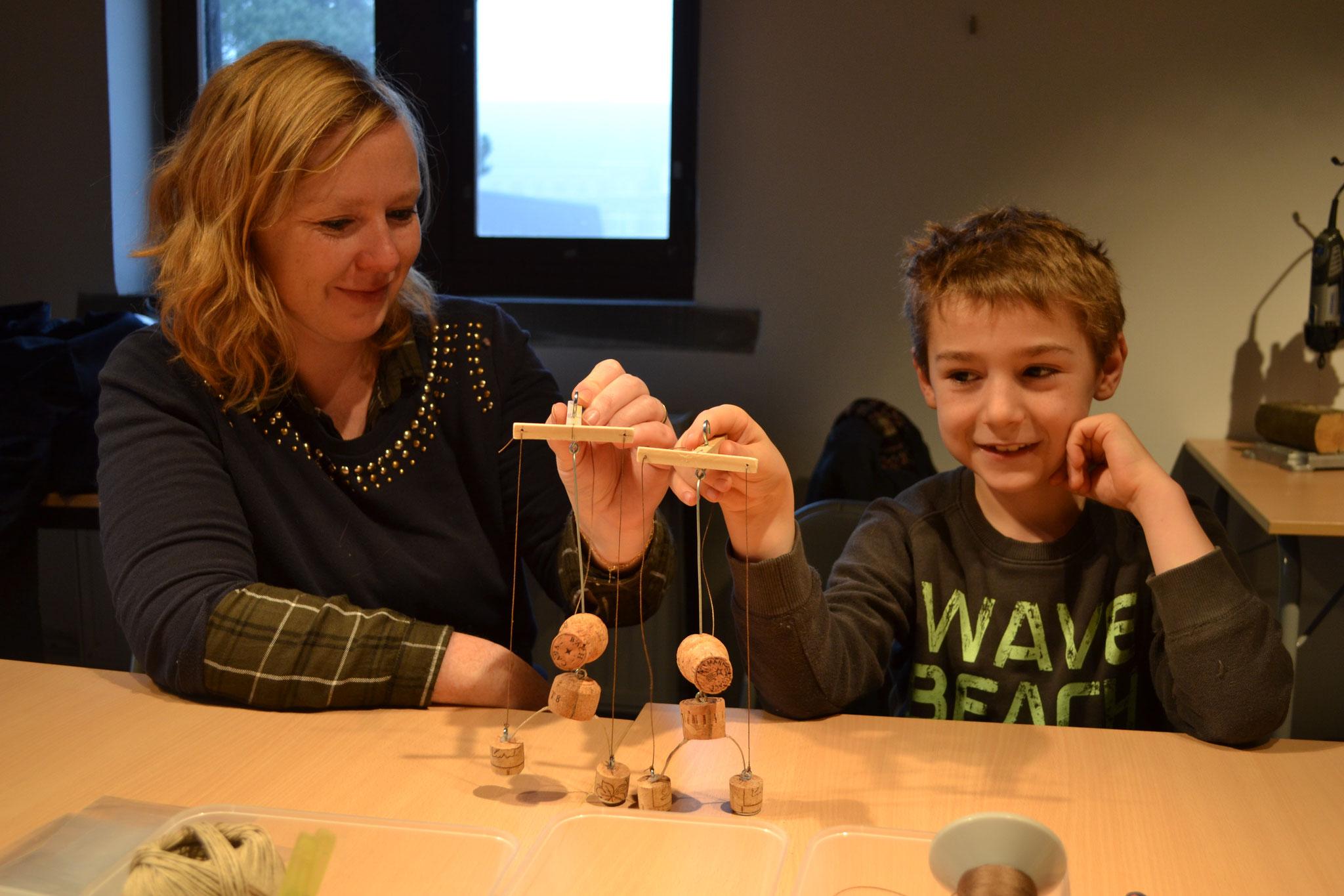 Atelier créatif Enfants/Parents ''Fabriquer ma marionnette en bouchon''