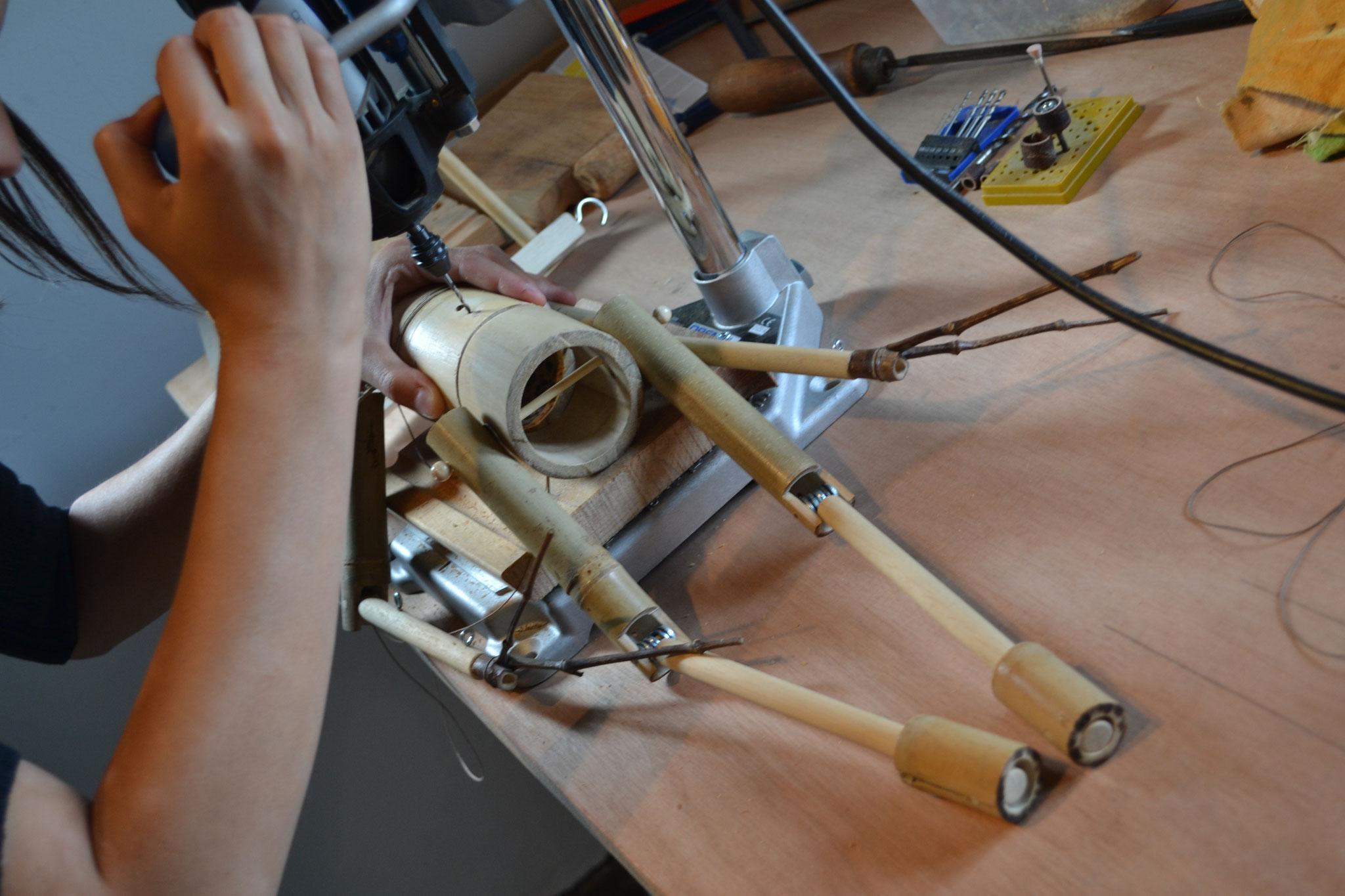 Formation pro ''Fabriquer ma marionnette à fils en bambou''