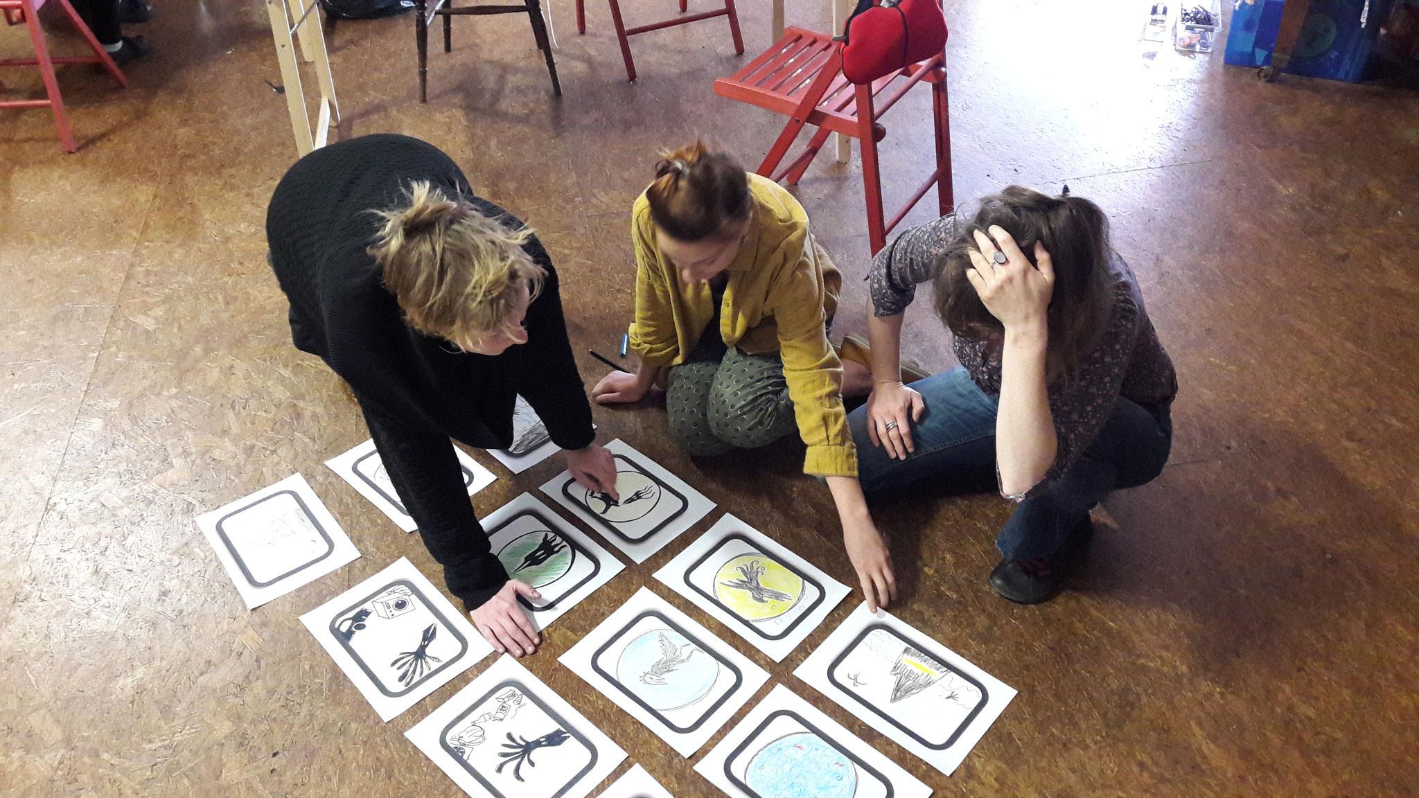 Workshop pro ''Petite grammaire des ombres chinoises''