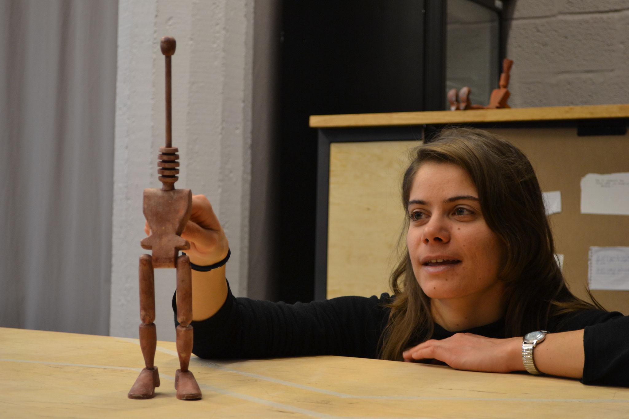 Workshop pro ''Petite grammaire de la marionnette''