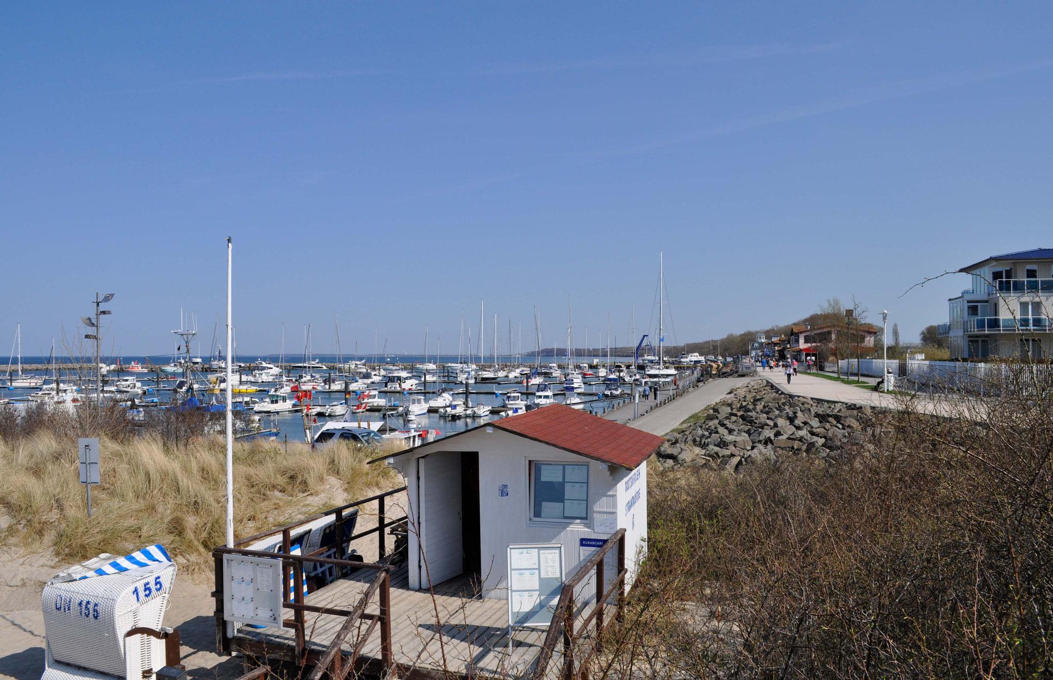 Der Yachthafen von Kühlungsborn.